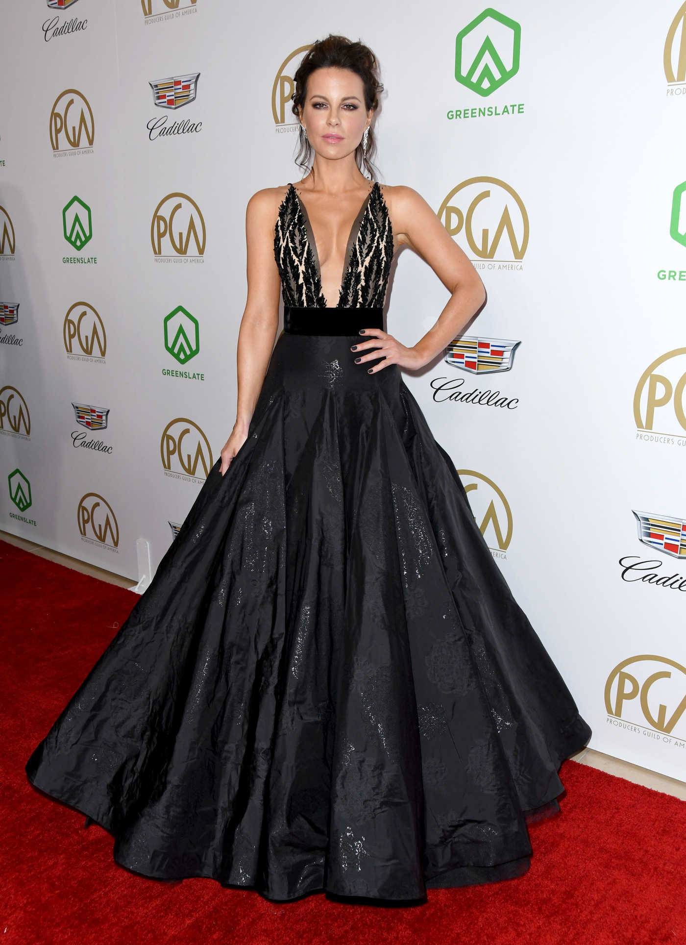 Kate Beckinsale Attends the 30th Annual Producers Guild Awards in Beverly Hills 01/19/2019