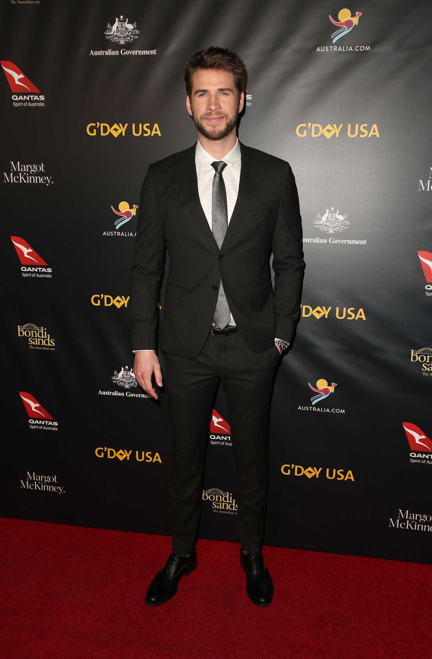 Liam Hemsworth Attends the 16th Annual G'Day USA Los Angeles Gala in LA 01/26/2019