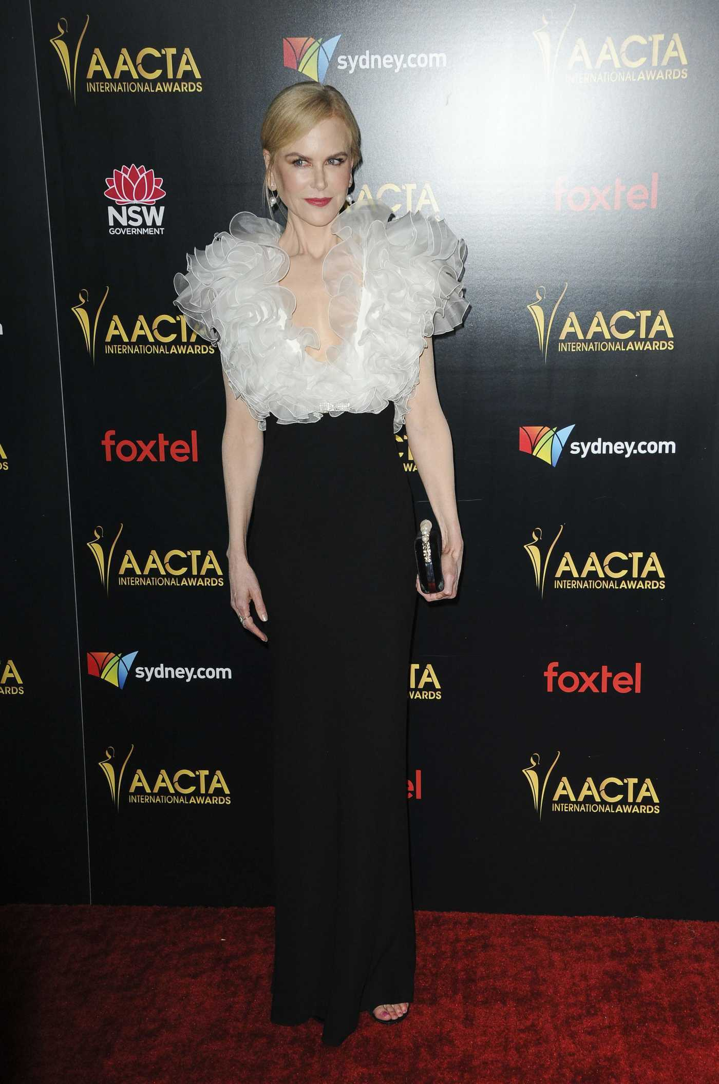 Nicole Kidman Attends the 8th AACTA International Awards in Los Angeles 01/04/2019