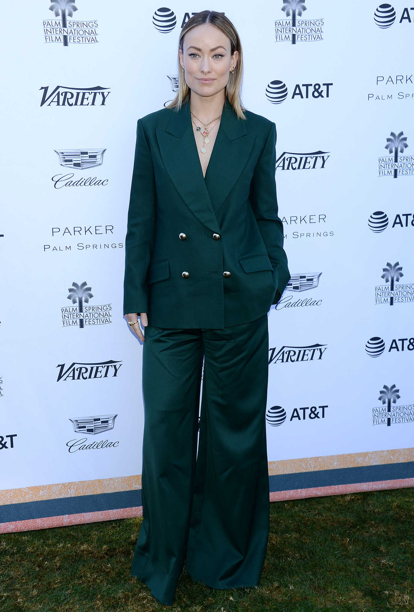 Olivia Wilde Attends 2019 Variety's Creative Impact Awards in Palm Springs 01/04/2019