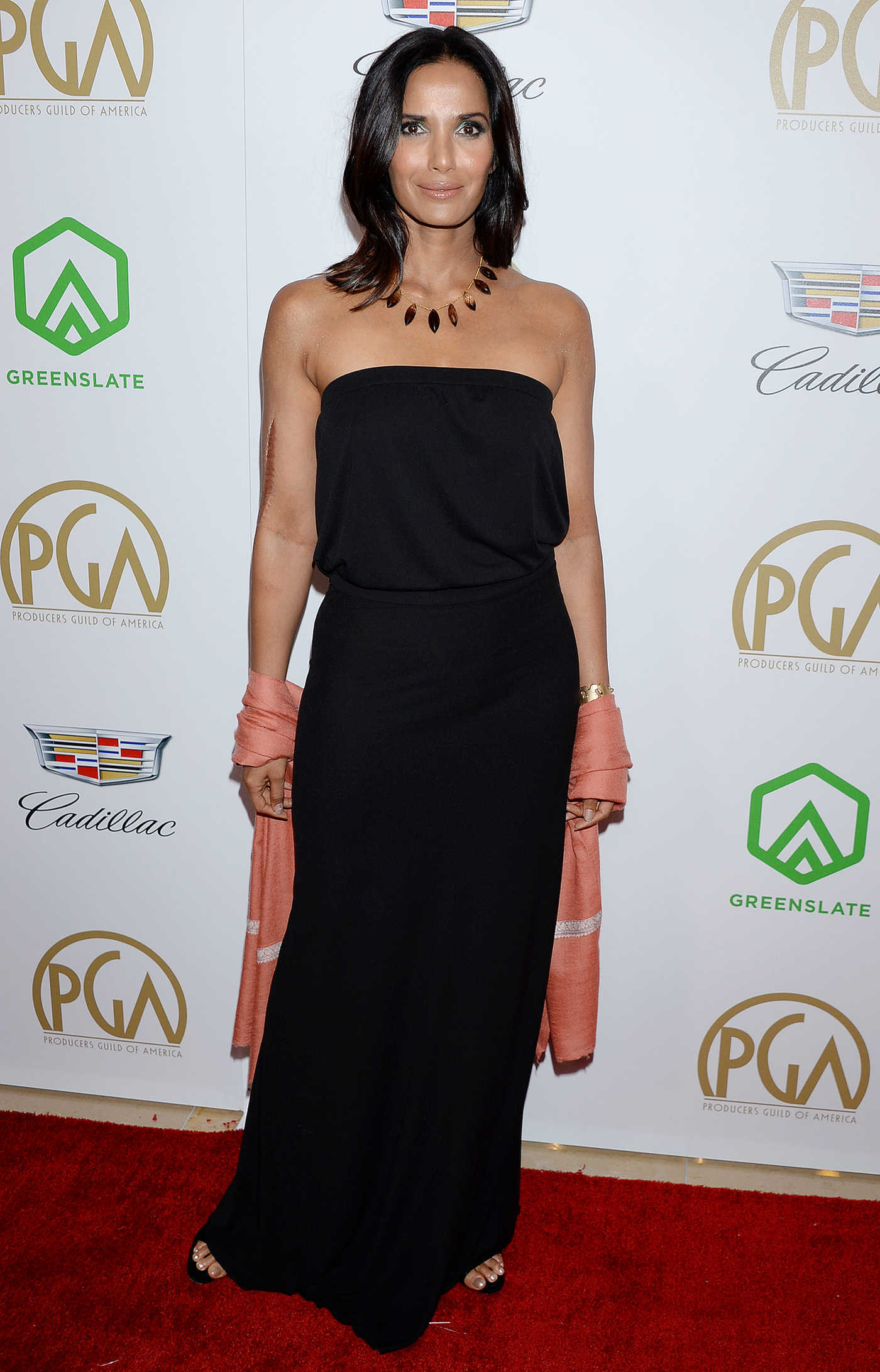Padma Lakshmi Attends the 30th Annual Producers Guild Awards in Beverly Hills 01/19/2019