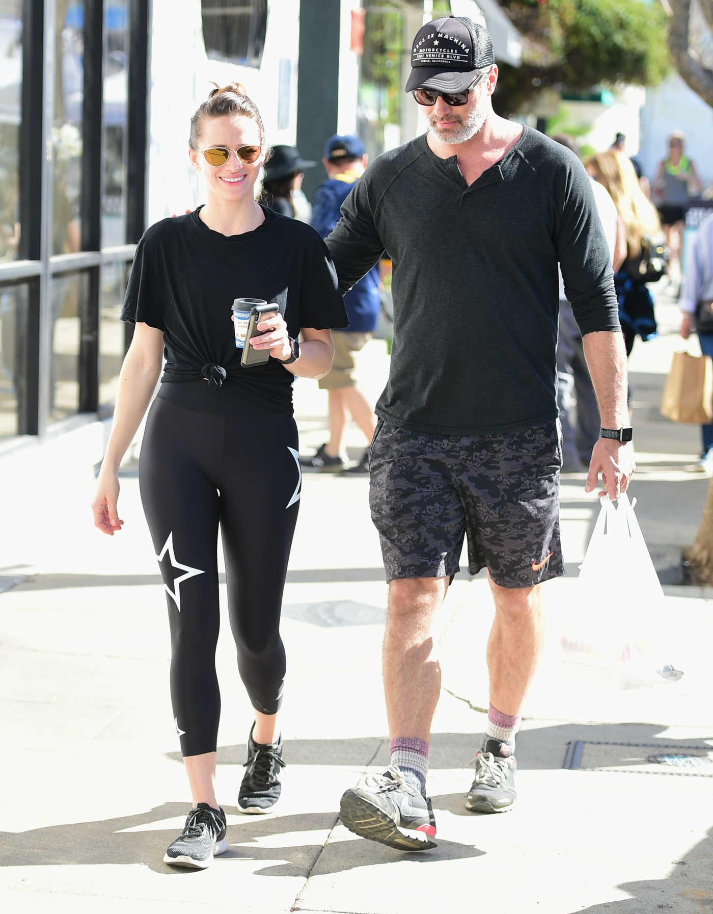 Shantel VanSanten Was Seen Out with Her Boyfriend Victor Webster in LA 01/27/2019