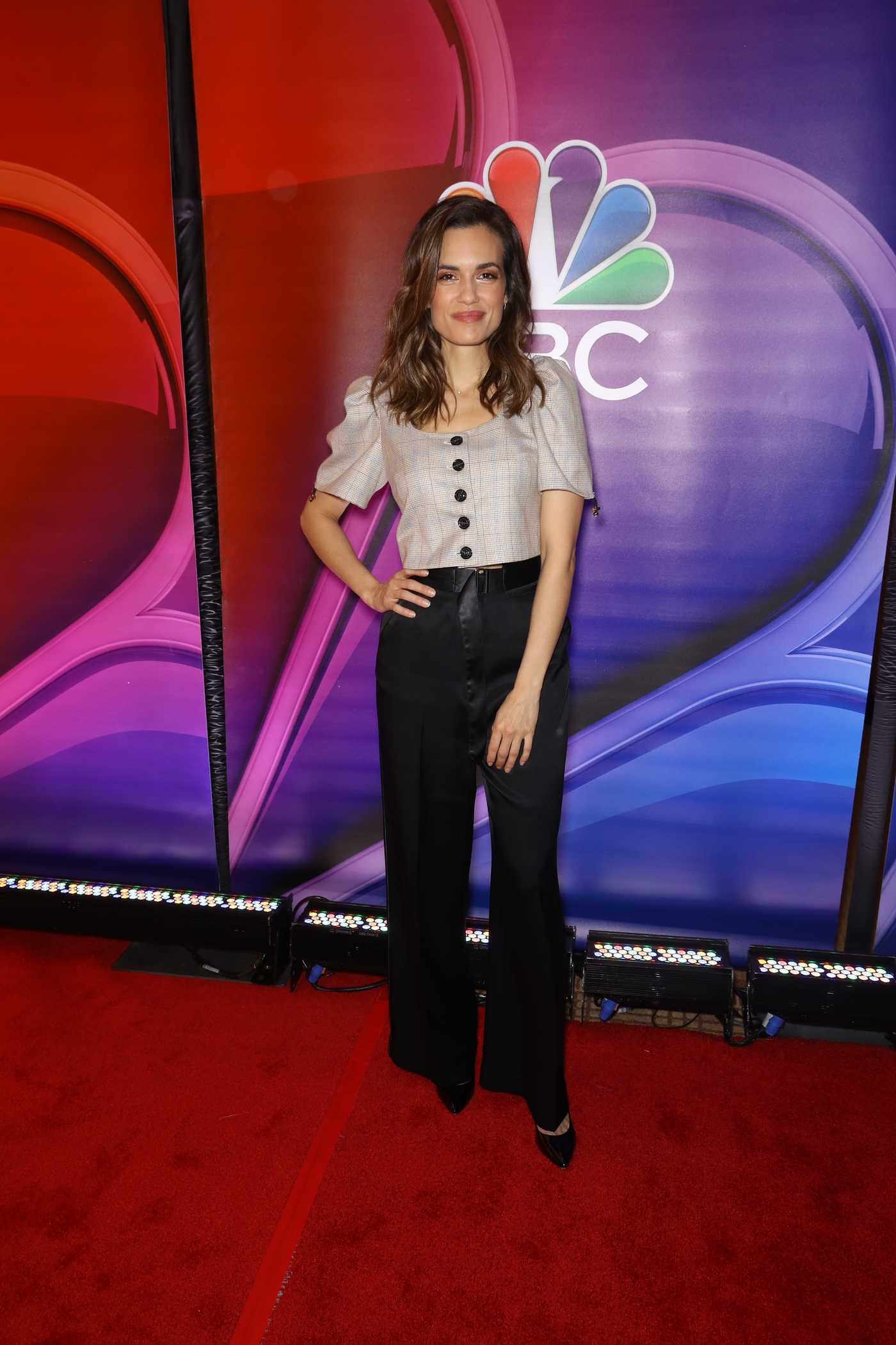 Torrey DeVitto Attends NBC's NY Mid Season Press Junket in NYC 01/24/2019