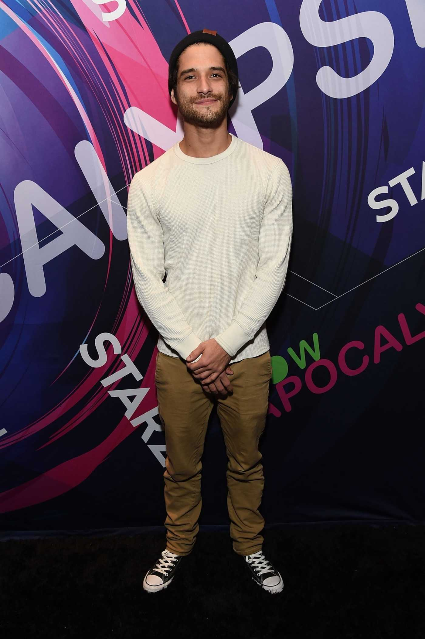 Tyler Posey Promotes Now Apocalypse During Sundance Film Festival in Park City 01/27/2019