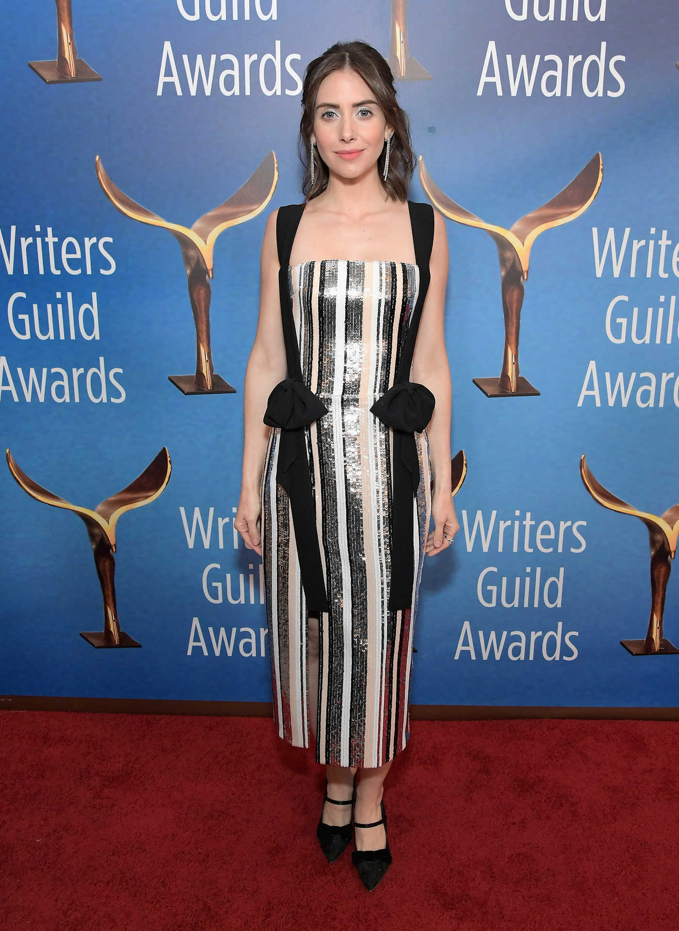 Alison Brie Attends the 71st Annual Writers Guild Awards in Los Angeles 02/17/2019