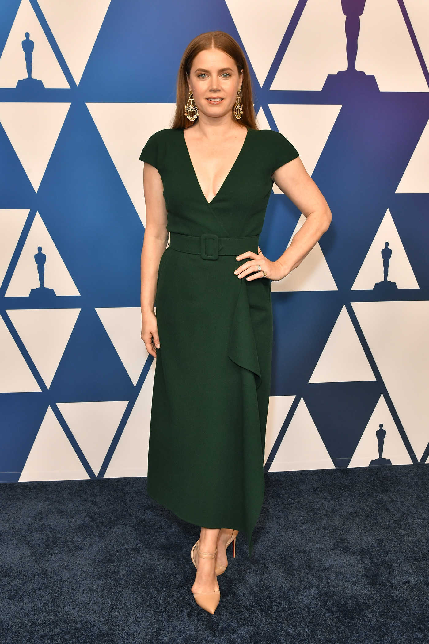 Amy Adams Attends the 91st Oscars Nominees Luncheon at The Beverly Hilton Hotel in Beverly Hills 02/04/2019