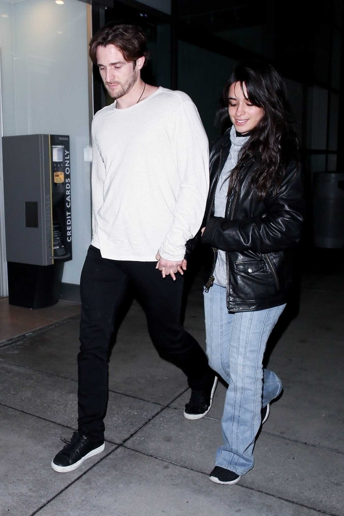 302a61baa22 Camila Cabello Arrives at ArcLight Theatre Out with Matthew Hussey ...