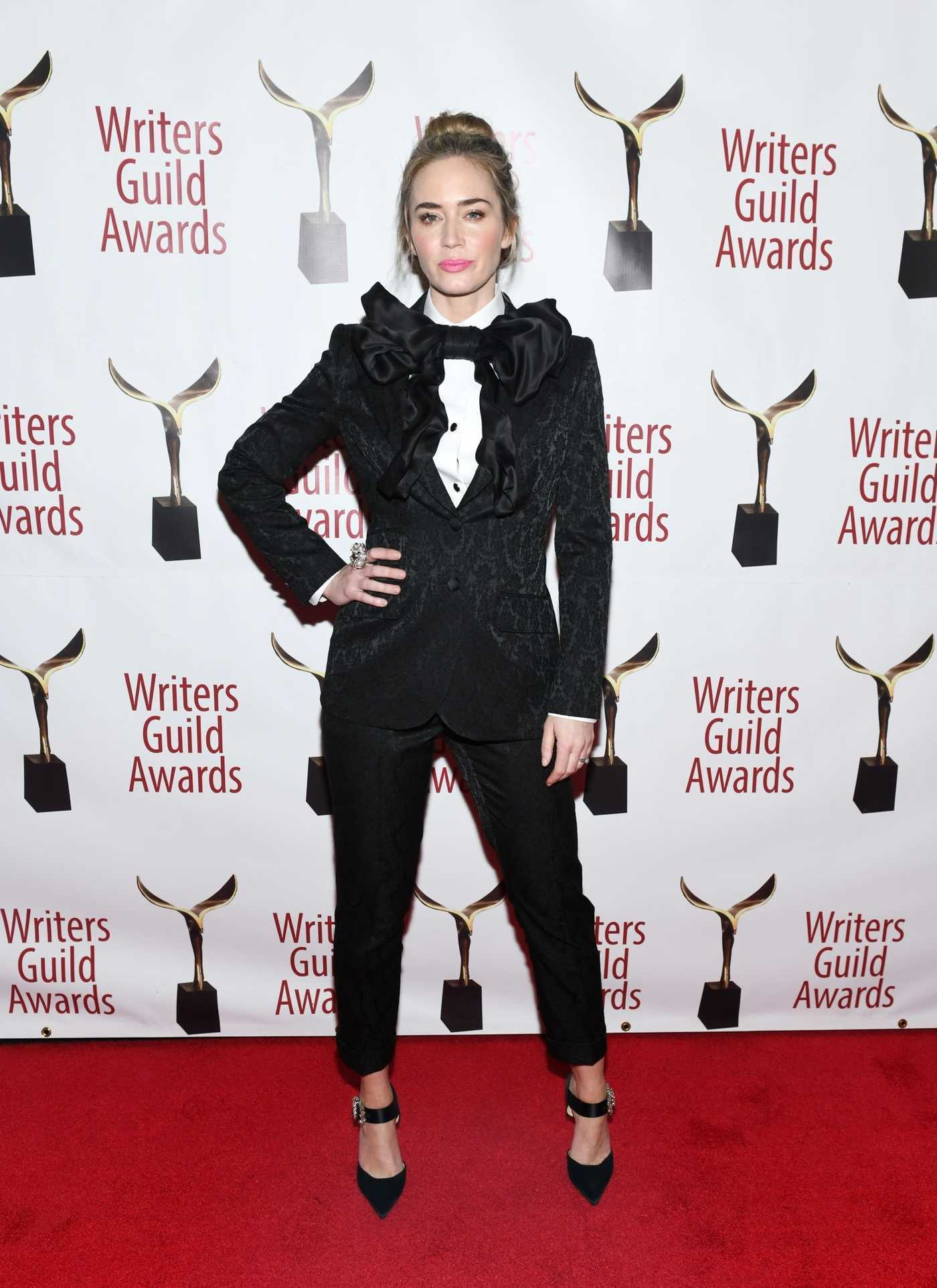 Emily Blunt Attends the 71st Annual Writers Guild Awards in Los Angeles 02/17/2019