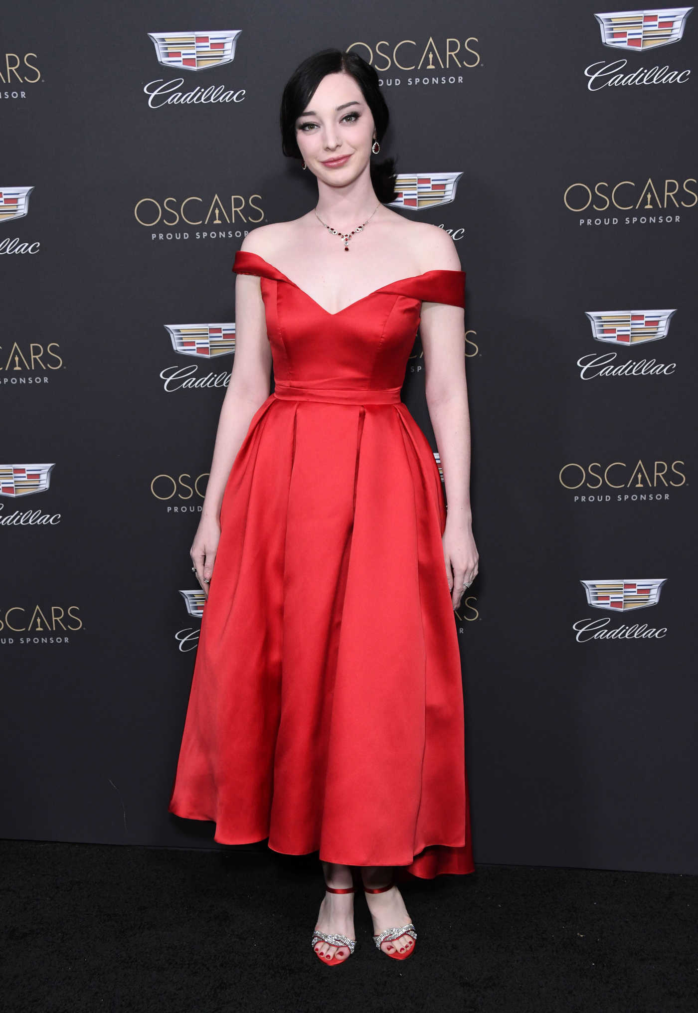 Emma Dumont Attends Cadillac Celebrates the 91st Annual Academy Awards in Los Angeles 02/21/2019