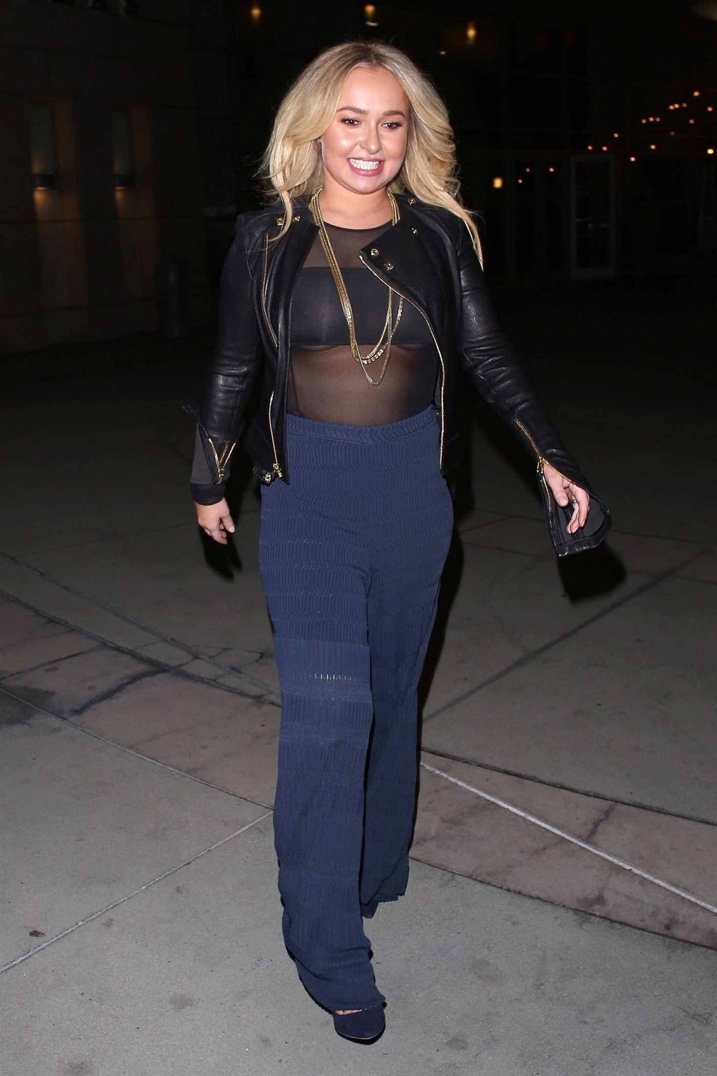 Hayden Panettiere Arrives at ArcLight Theatre Out with Brian Hickerson in Hollywood 01/31/2019