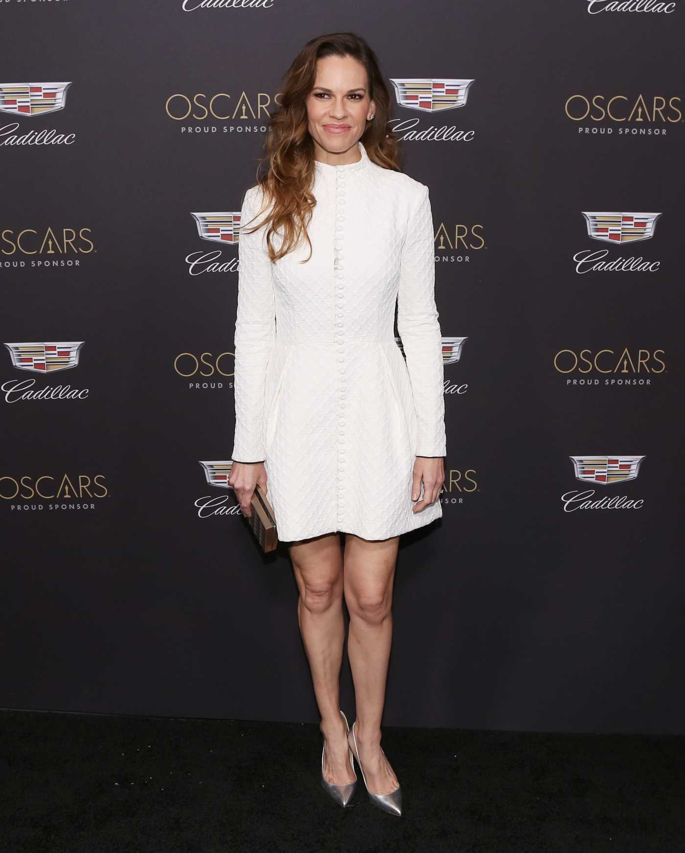 Hilary Swank Attends Cadillac Celebrates the 91st Annual Academy Awards in Los Angeles 02/21/2019