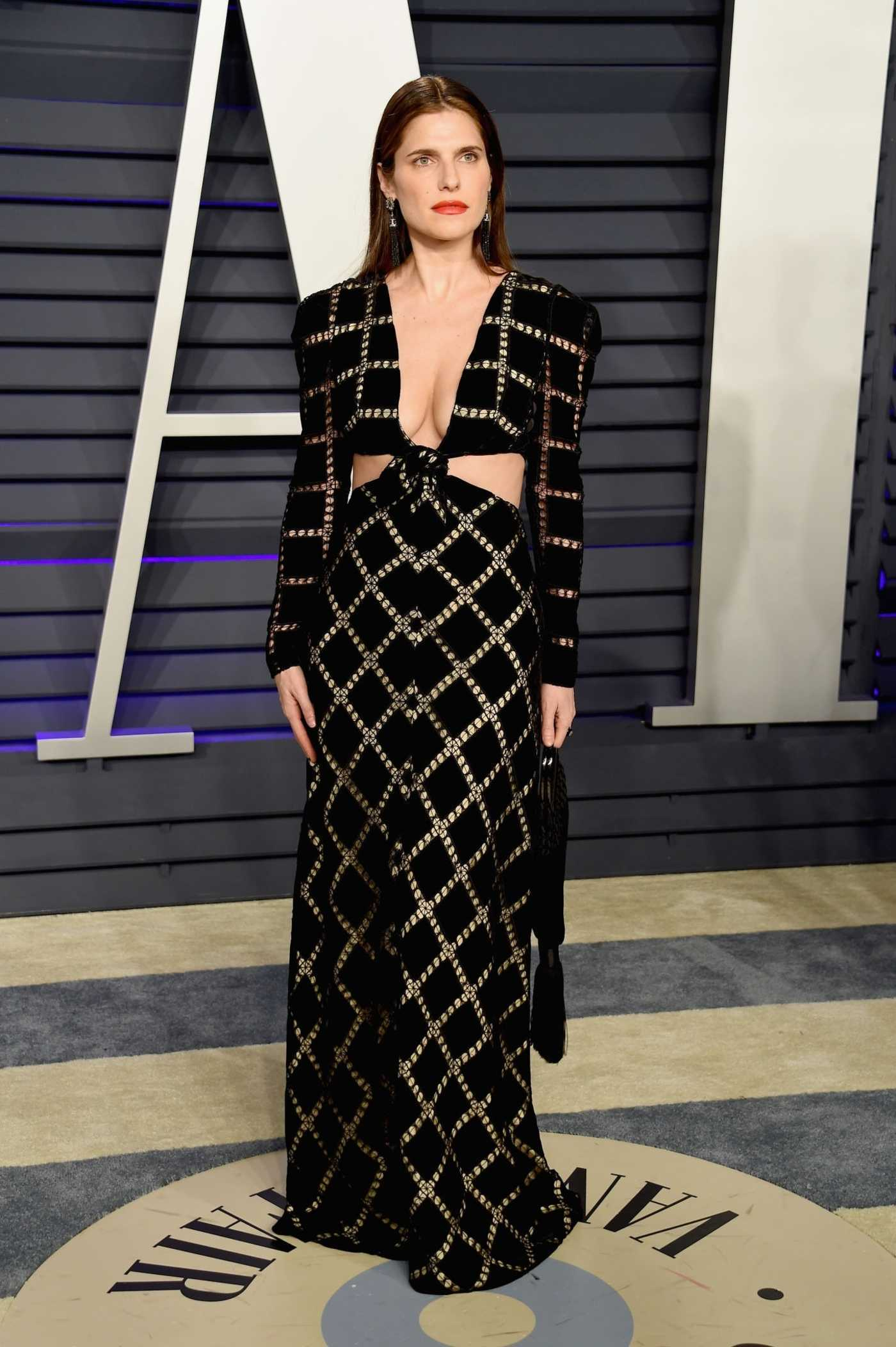 Lake Bell Attends 2019 Vanity Fair Oscar Party in Beverly Hills 02/24/2019