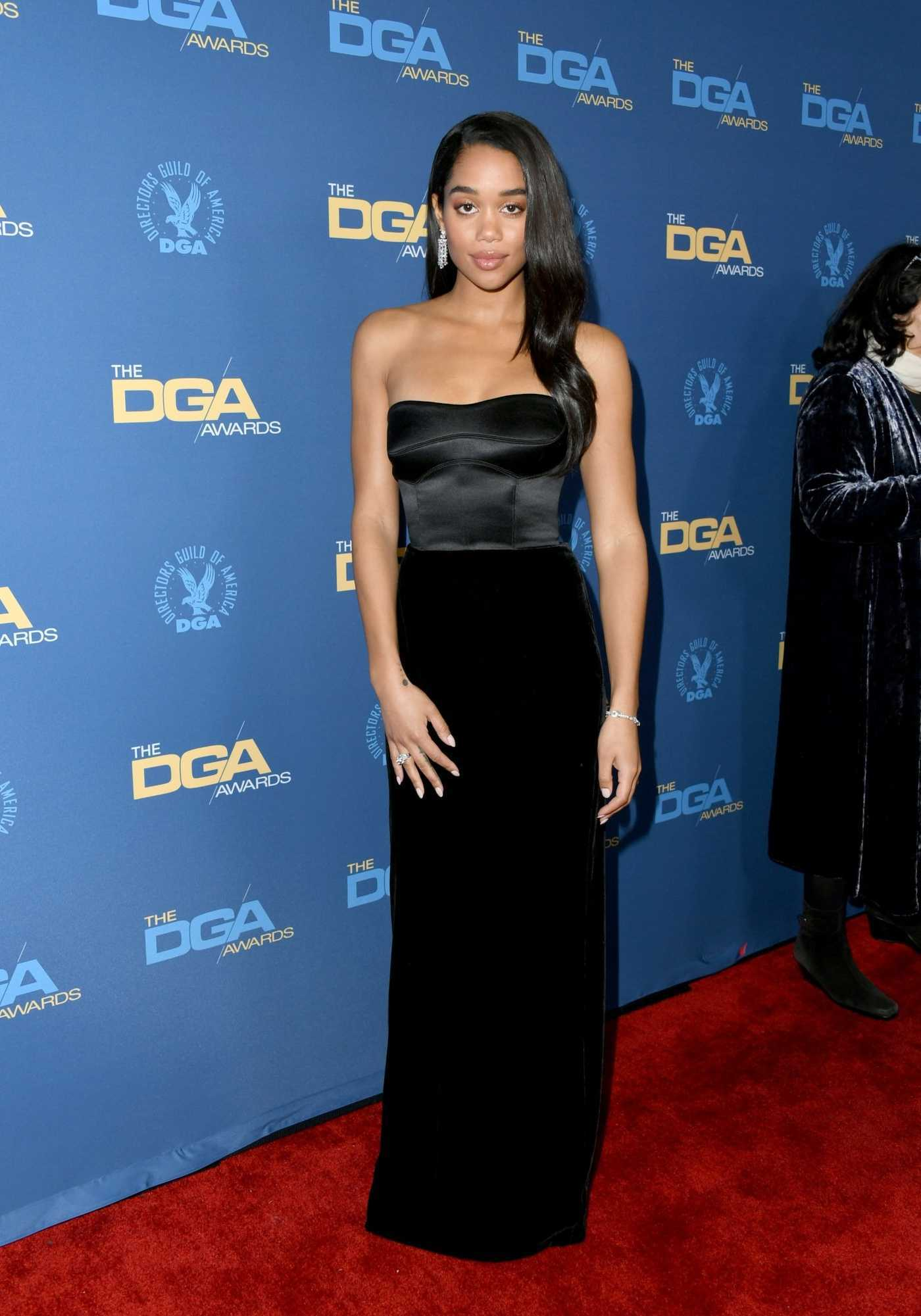 Laura Harrier Attends the 71st Annual Directors Guild of America Awards in Hollywood 02/02/2019