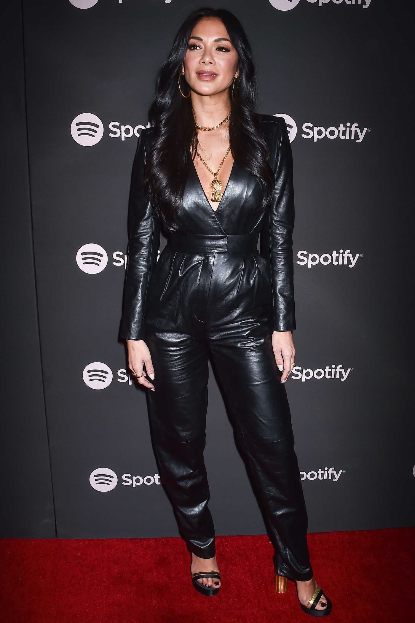 Nicole Scherzinger Attends Spotify Best New Artist 2019 Event in Los Angeles 02/07/2019