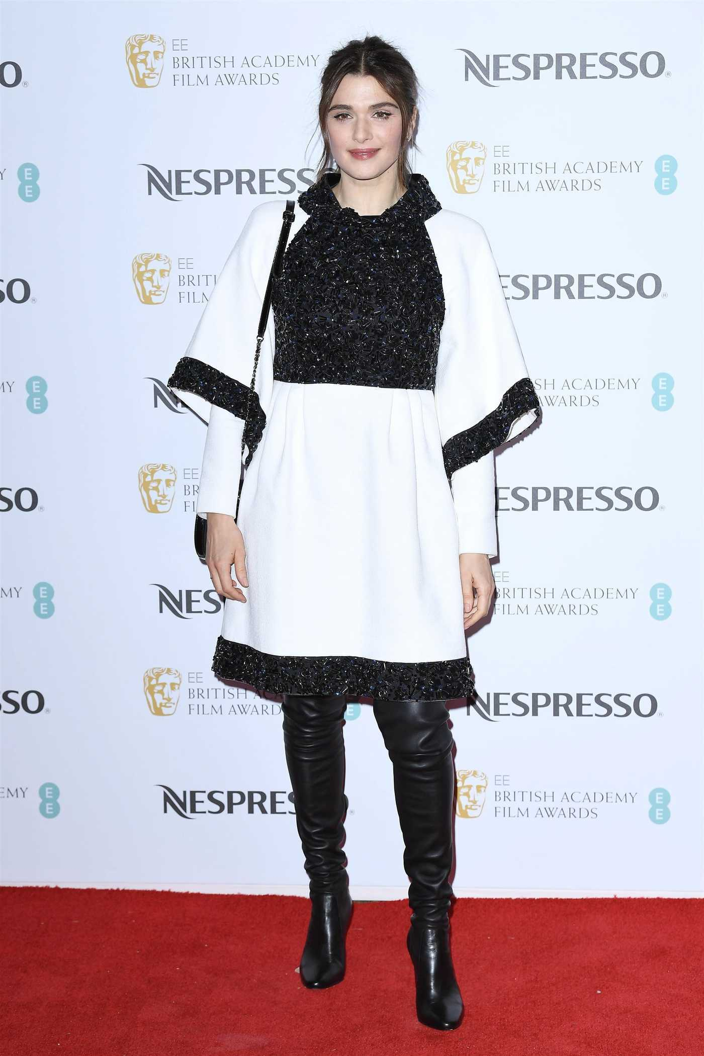 Rachel Weisz Attends 2019 BAFTA Nespresso Nominees Party in LA 02/09/2019