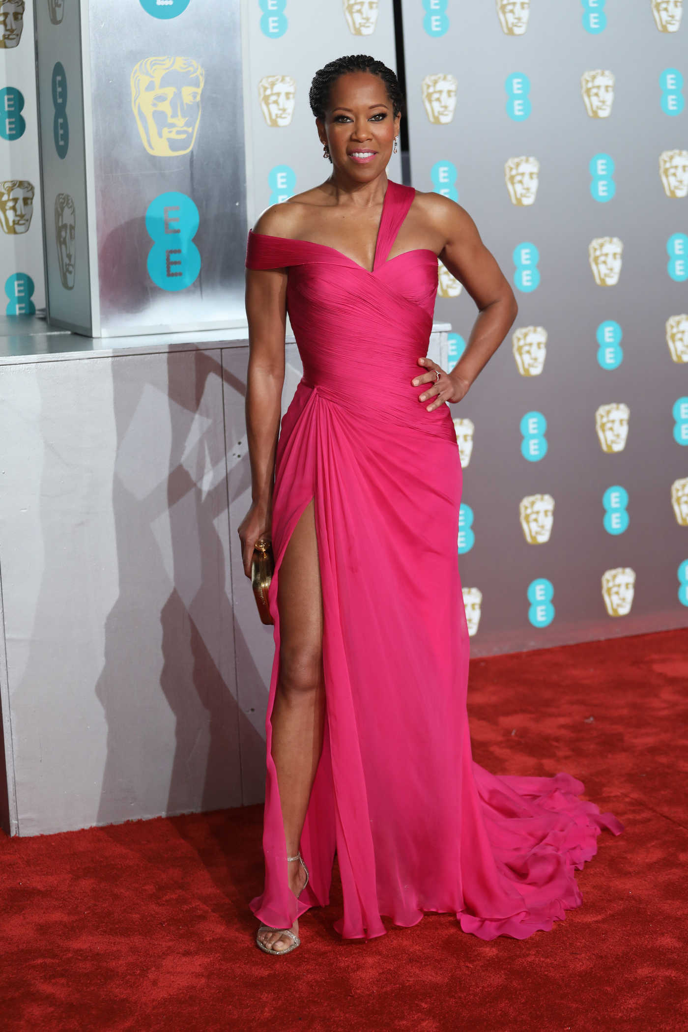 Regina King Attends 2019 BAFTA Awards in London 02/10/2019
