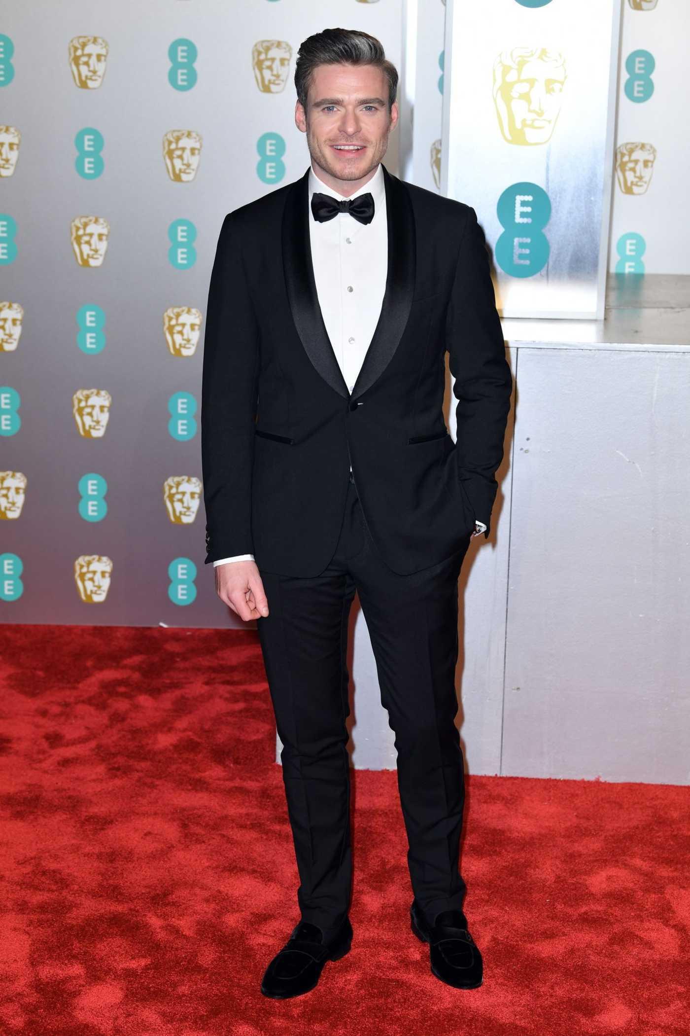 Richard Madden Attends 2019 BAFTA Awards in London 02/10/2019