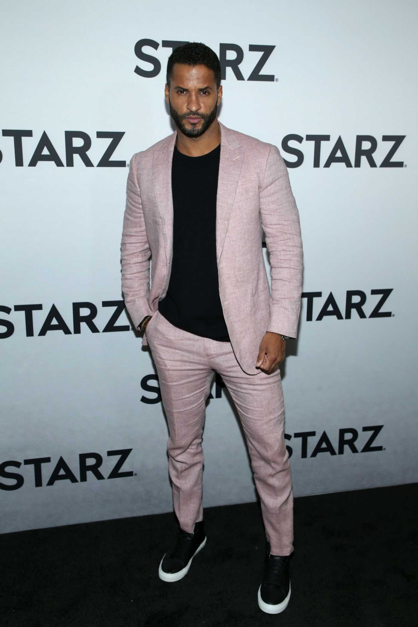 Ricky Whittle Attends STARZ TCA Red Carpet Event at 71Above in LA 02/12/2019