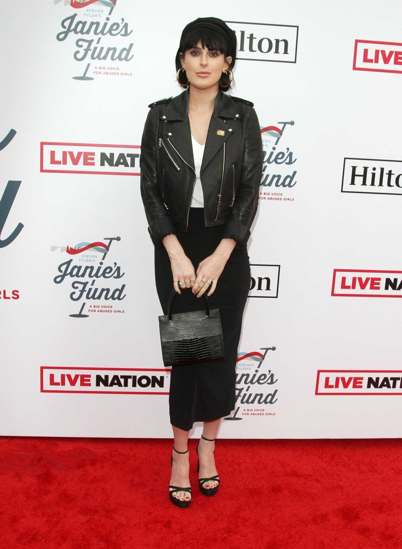Rumer Willis Attends Steven Tyler's Grammy Awards Viewing Party in Hollywood 02/10/2019