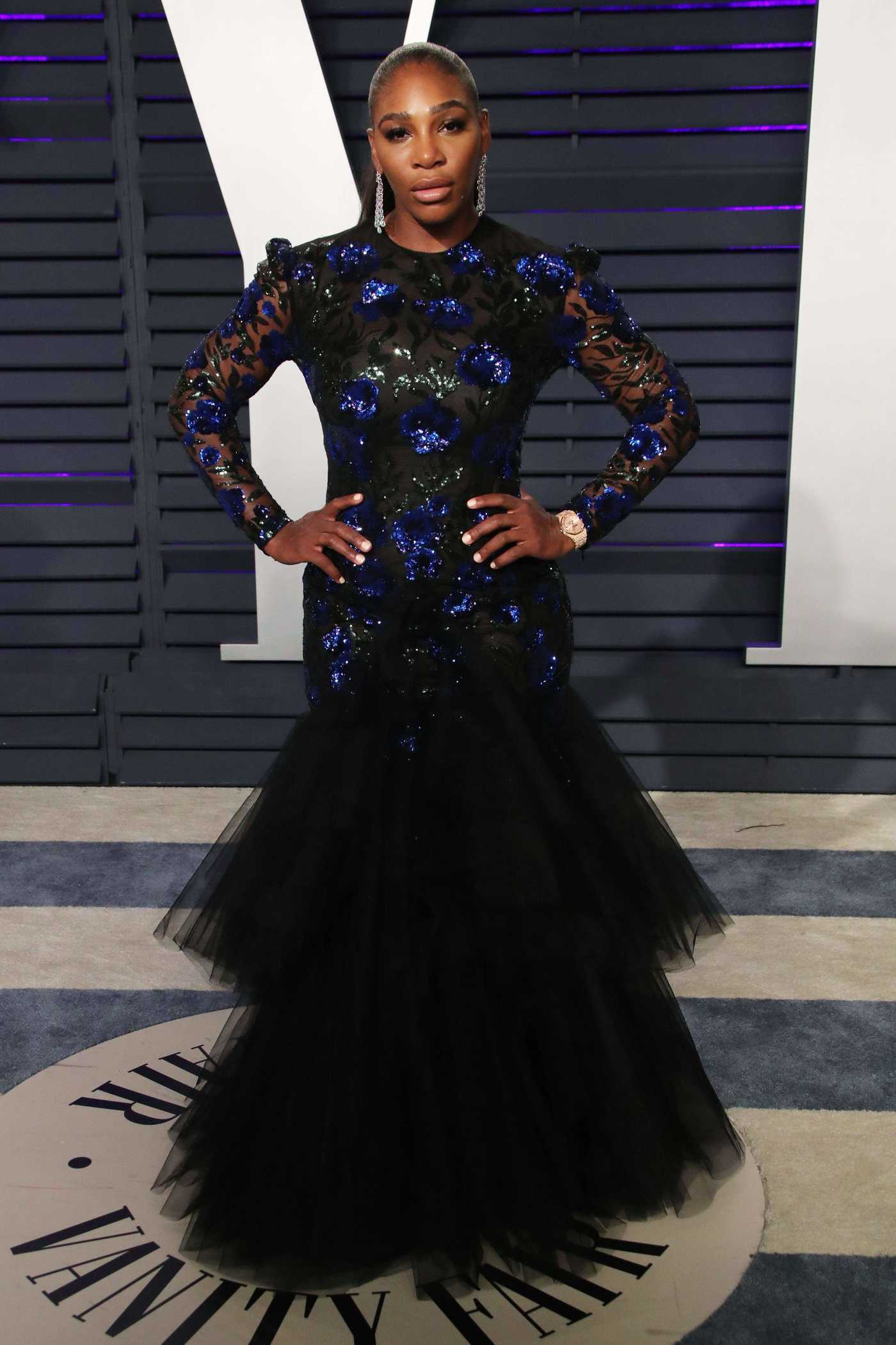 Serena Williams Attends 2019 Vanity Fair Oscar Party in Beverly Hills 02/24/2019