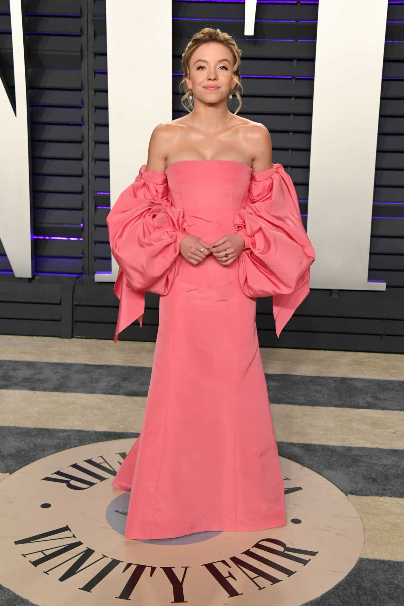 Sydney Sweeney Attends 2019 Vanity Fair Oscar Party in Beverly Hills 02/24/2019