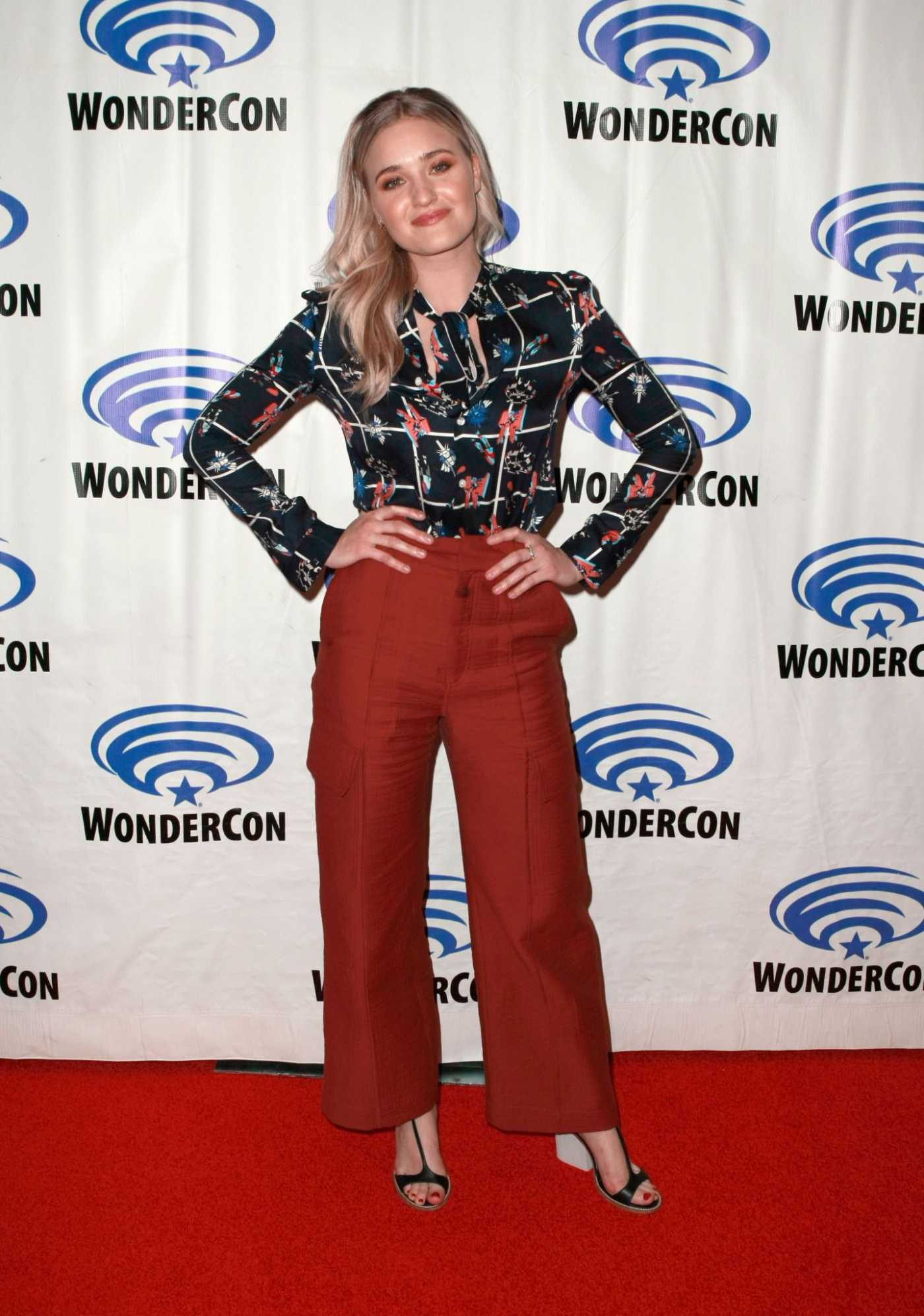 AJ Michalka Attends She-Ra and the Princesses of Power Press Line During 2019 WonderCon in Anaheim 03/30/2019