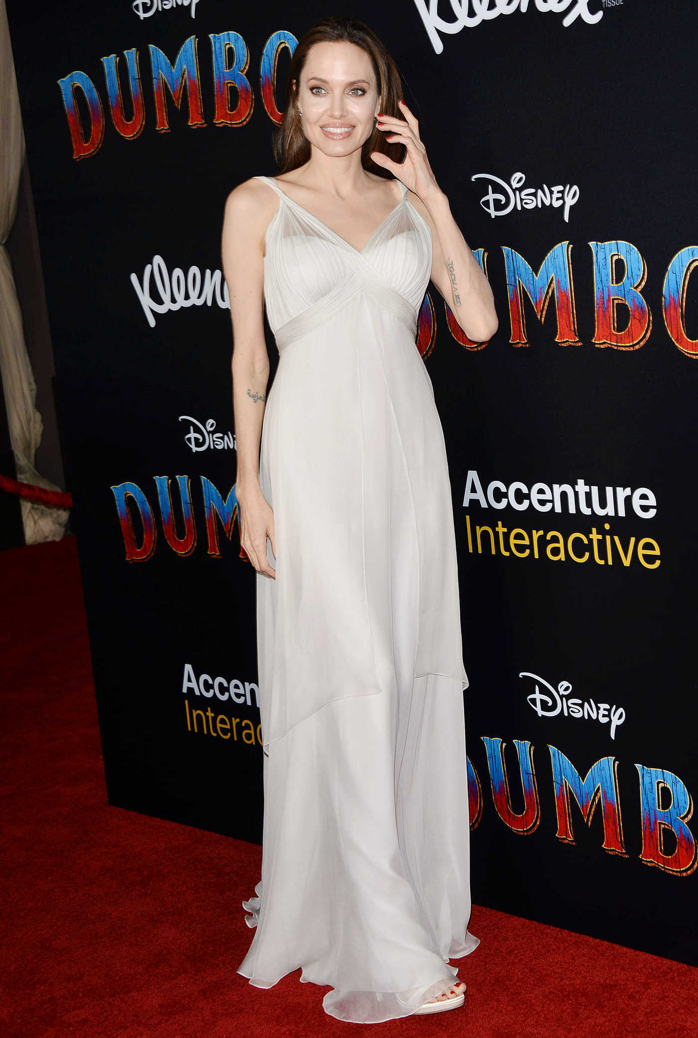 Angelina Jolie Attends Disney's Dumbo World Premiere in Hollywood 03/11/2019