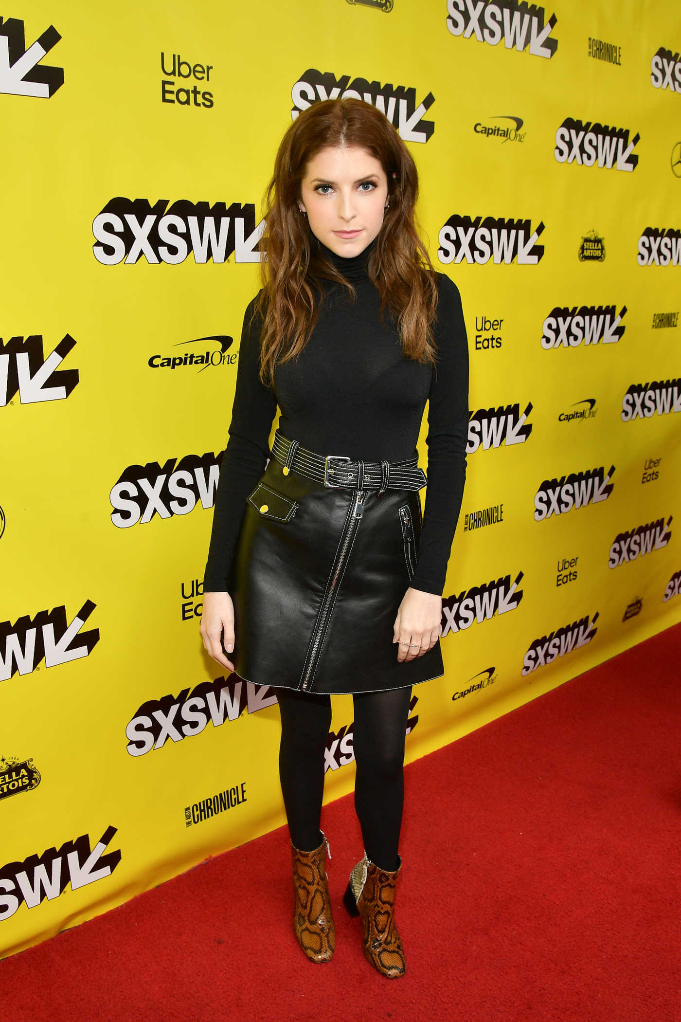 Anna Kendrick Attends The Day Shall Come Premiere During 2019 SXSW in Austin 03/11/2019