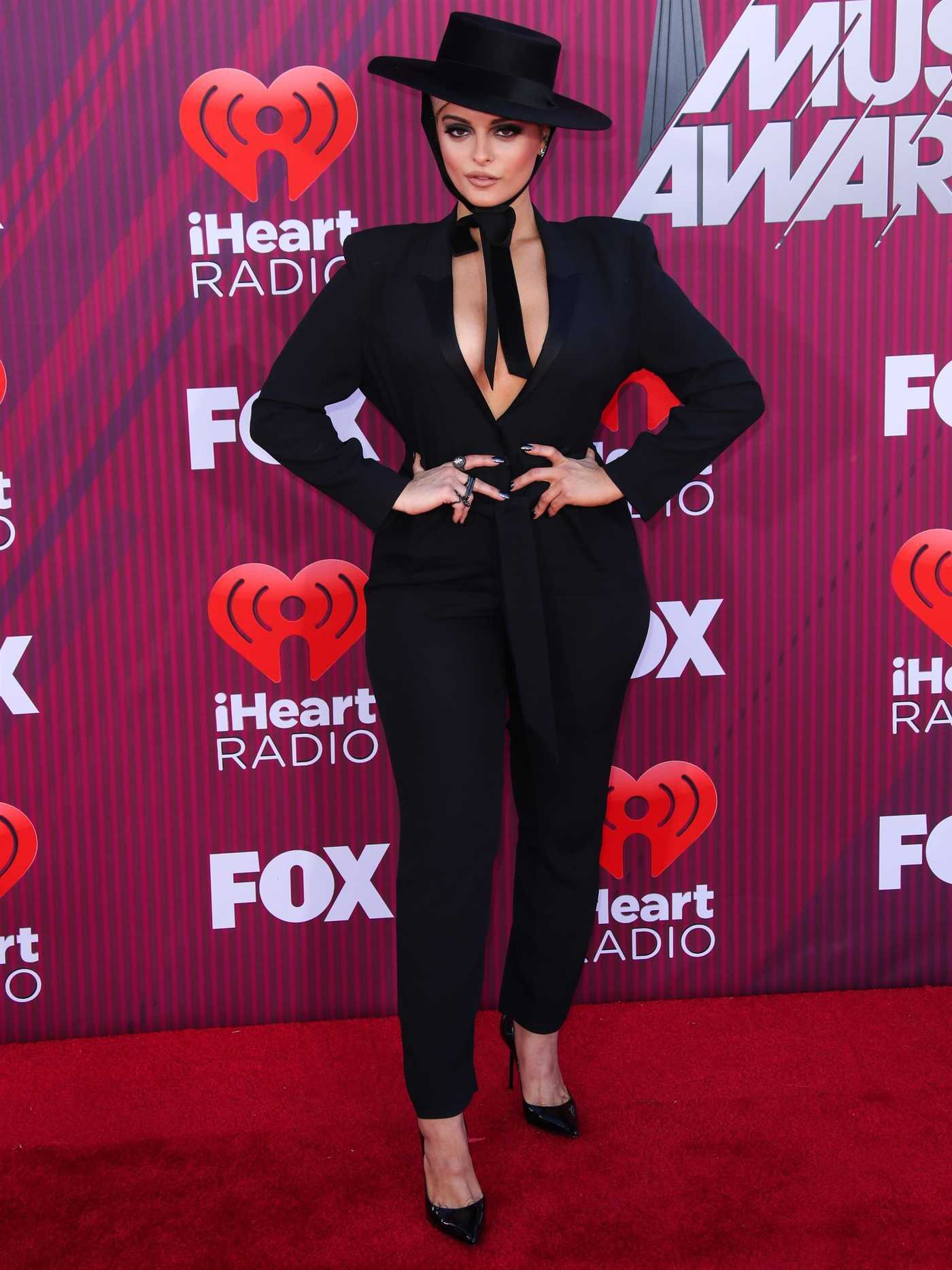 Bebe Rexha Attends 2019 iHeartRadio Music Awards at Microsoft Theater in LA 03/14/2019