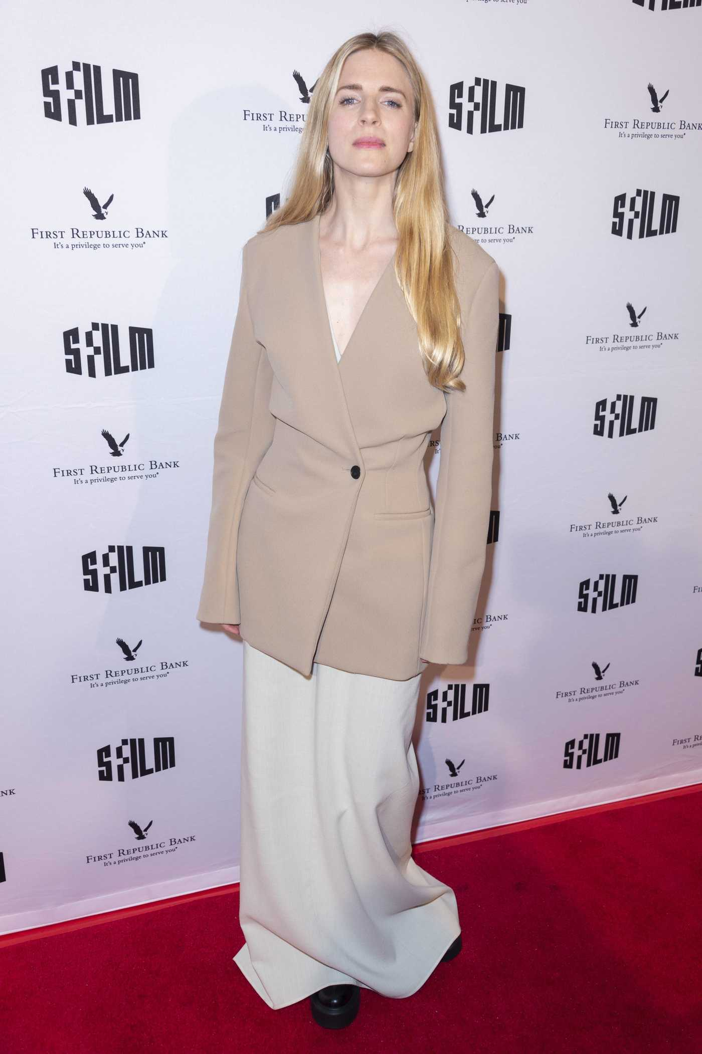 Brit Marling Attends The OA Part II Screening at The Castro Theatre in San Francisco 03/20/2019