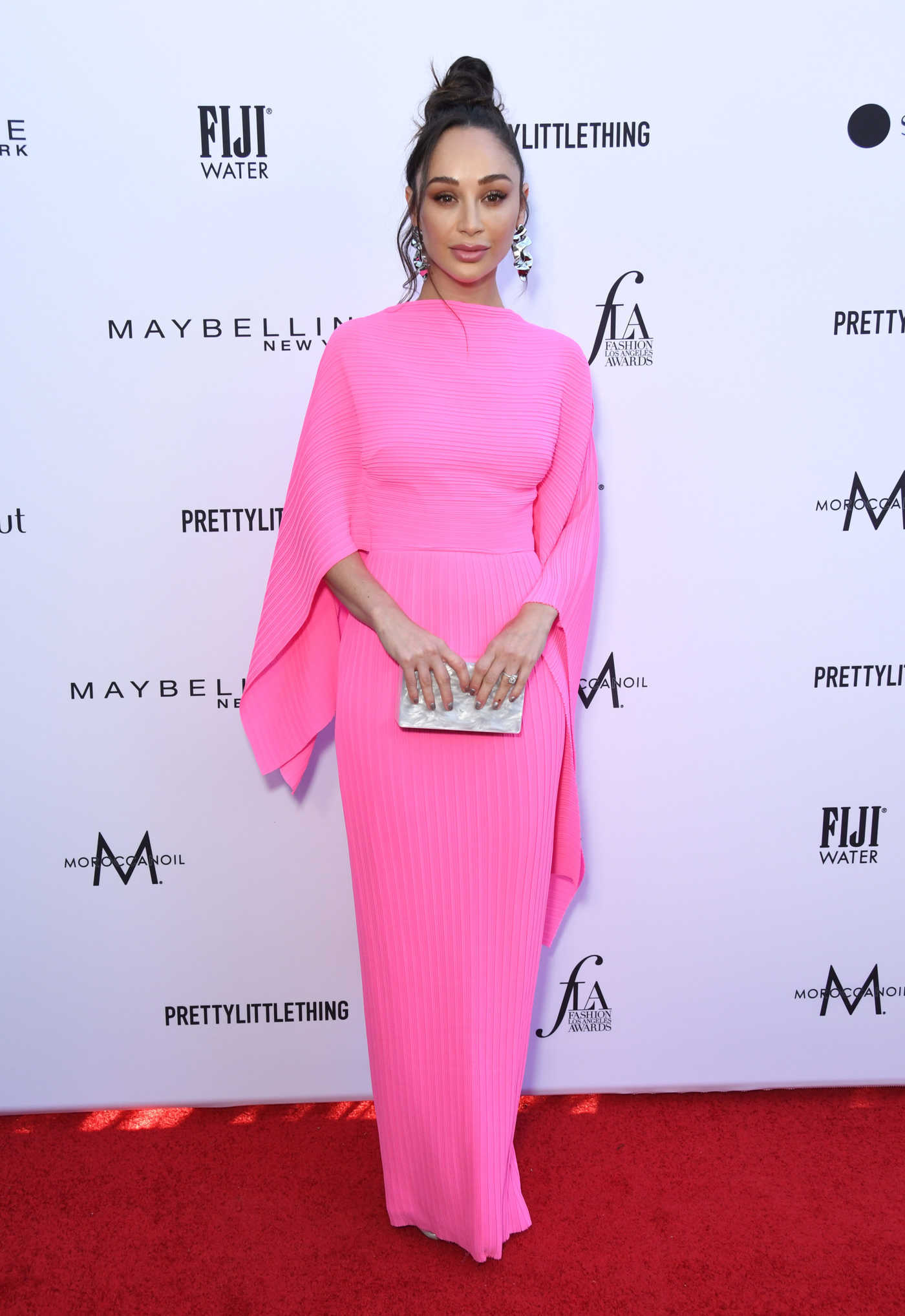 Cara Santana Attends The Daily Front Row Fashion Awards at The Beverly Hills Hotel in Los Angeles 03/17/2019