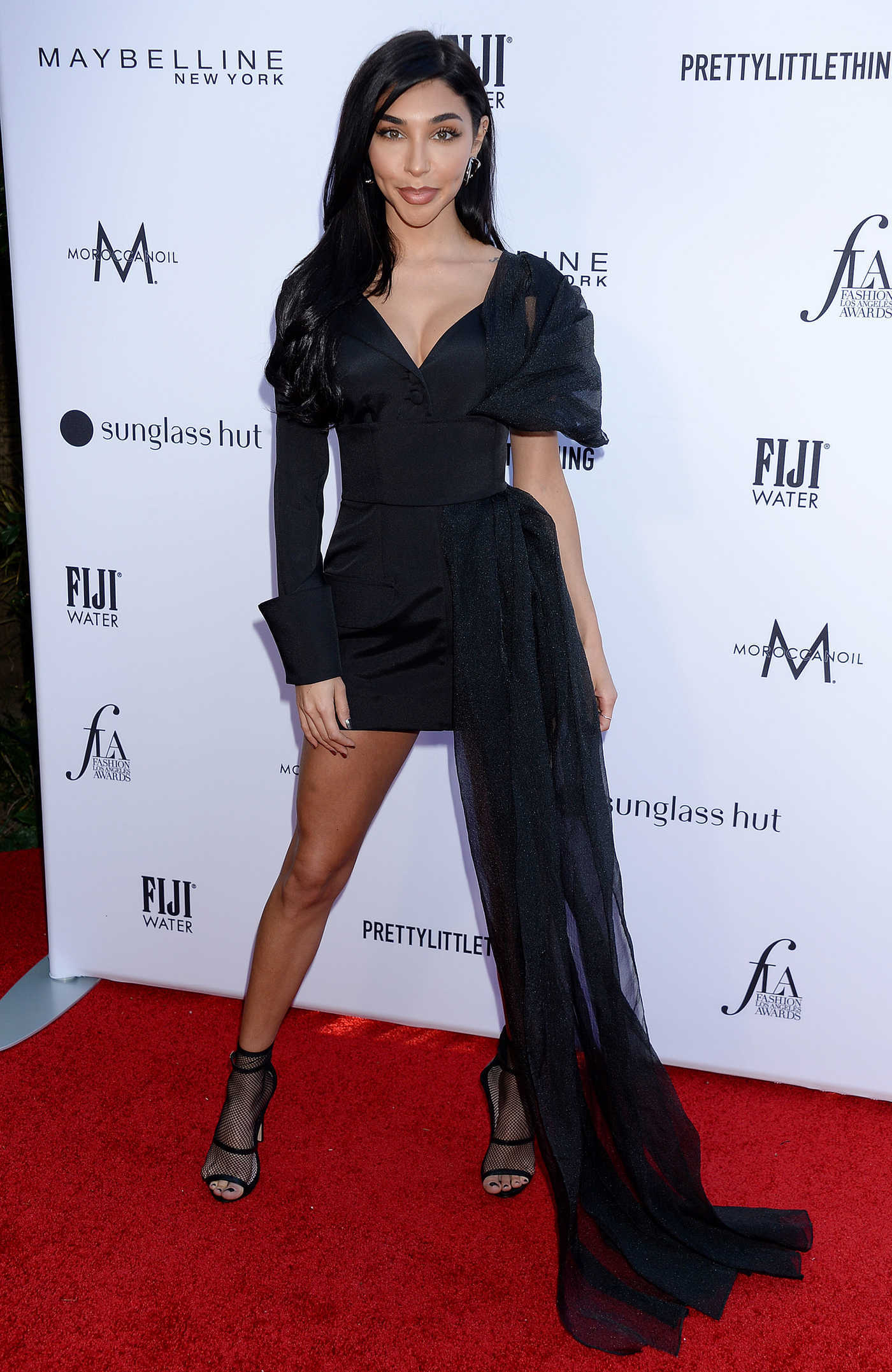 Chantel Jeffries Attends The Daily Front Row Fashion Awards at The Beverly Hills Hotel in Los Angeles 03/17/2019