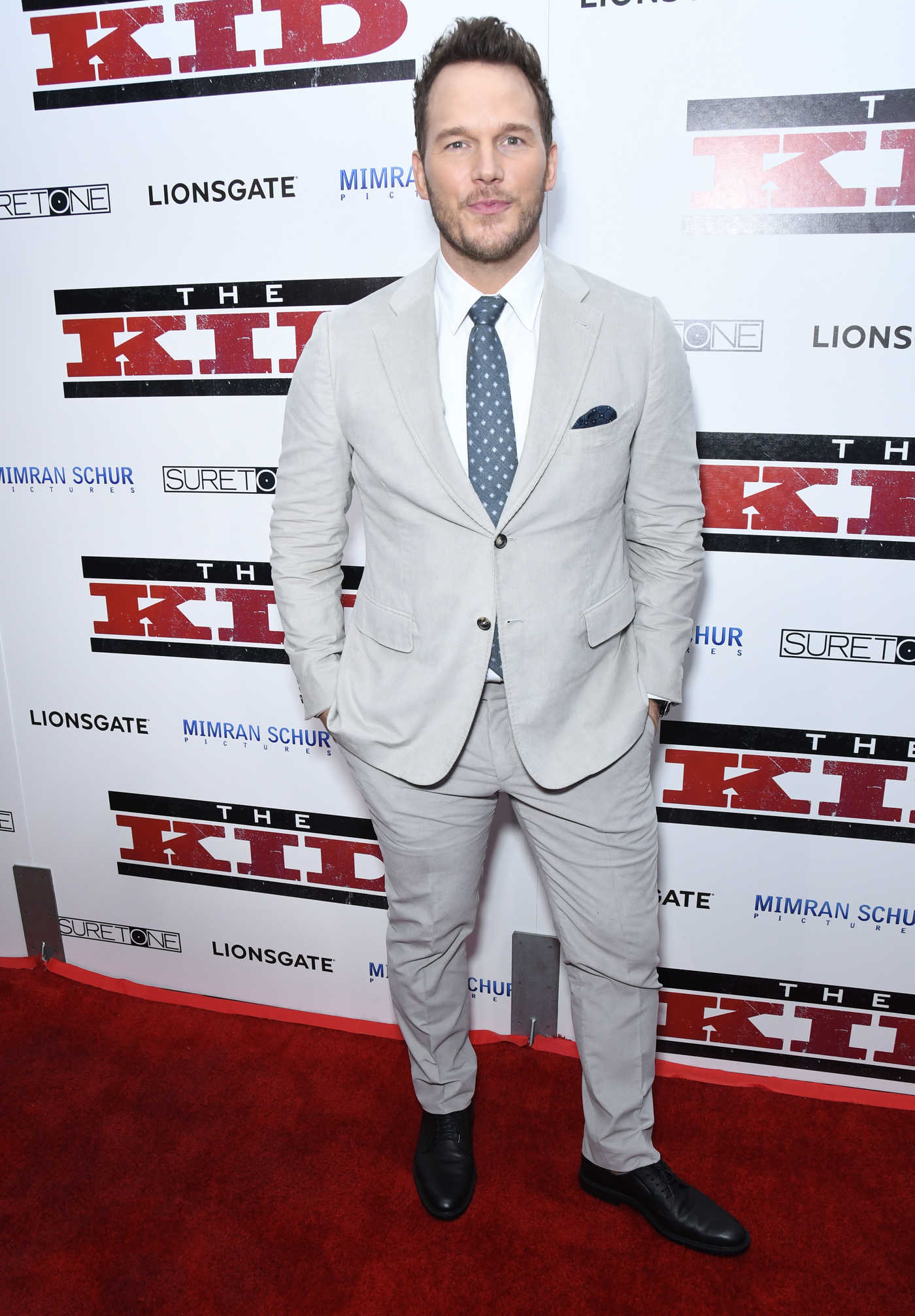 Chris Pratt Attends The Kid Premiere in Los Angeles 03/06/2019