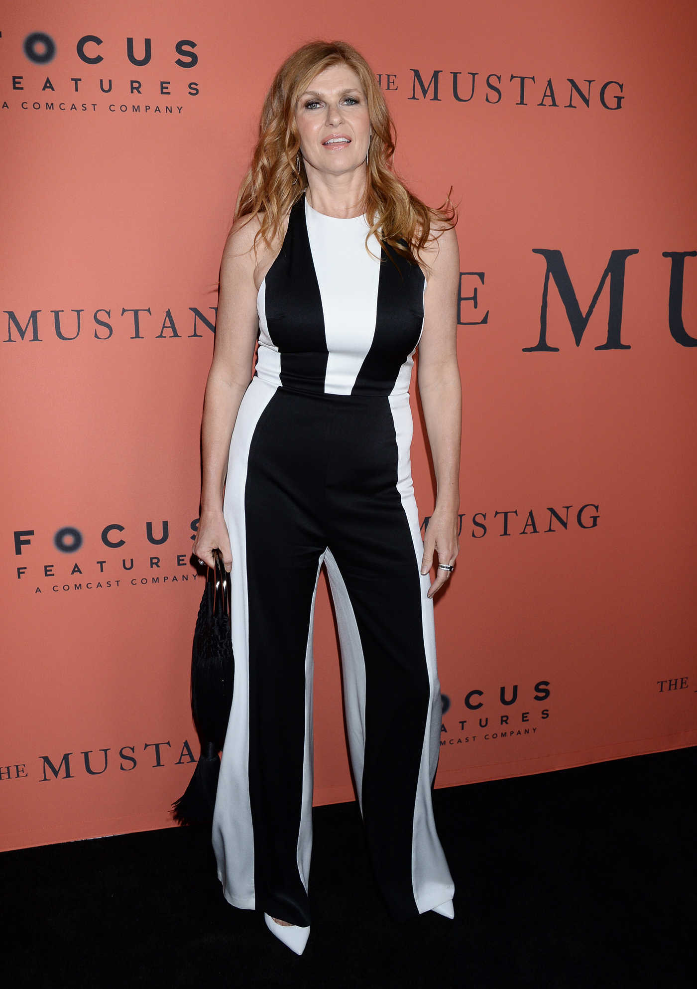 Connie Britton Attends The Mustang Premiere in Los Angeles 03/12/2019
