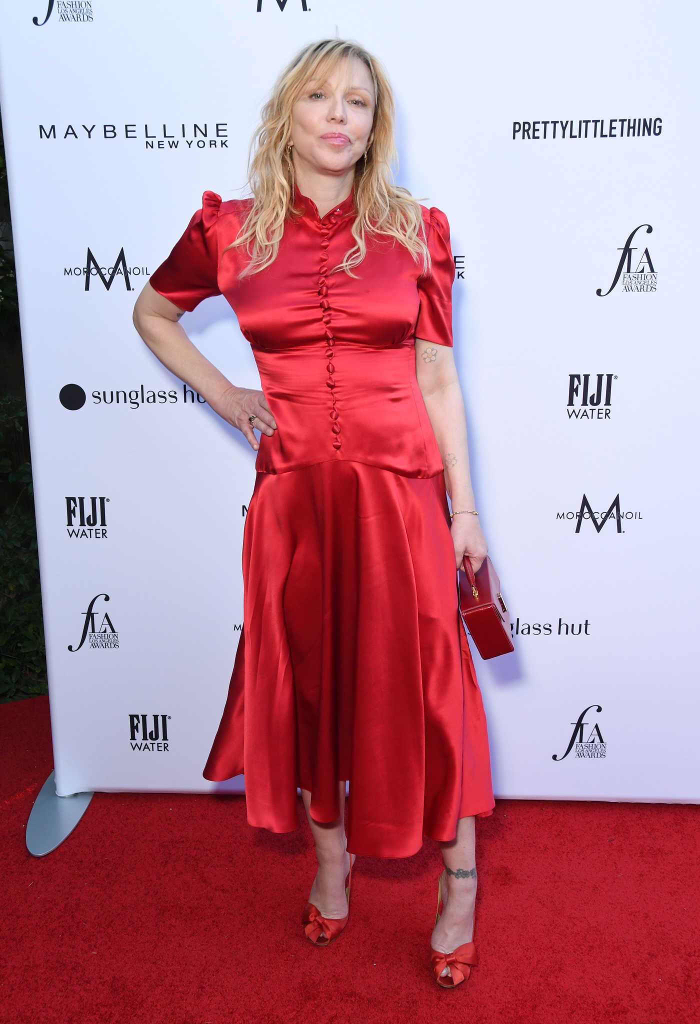 Courtney Love Attends The Daily Front Row Fashion Awards at The Beverly Hills Hotel in Los Angeles 03/17/2019