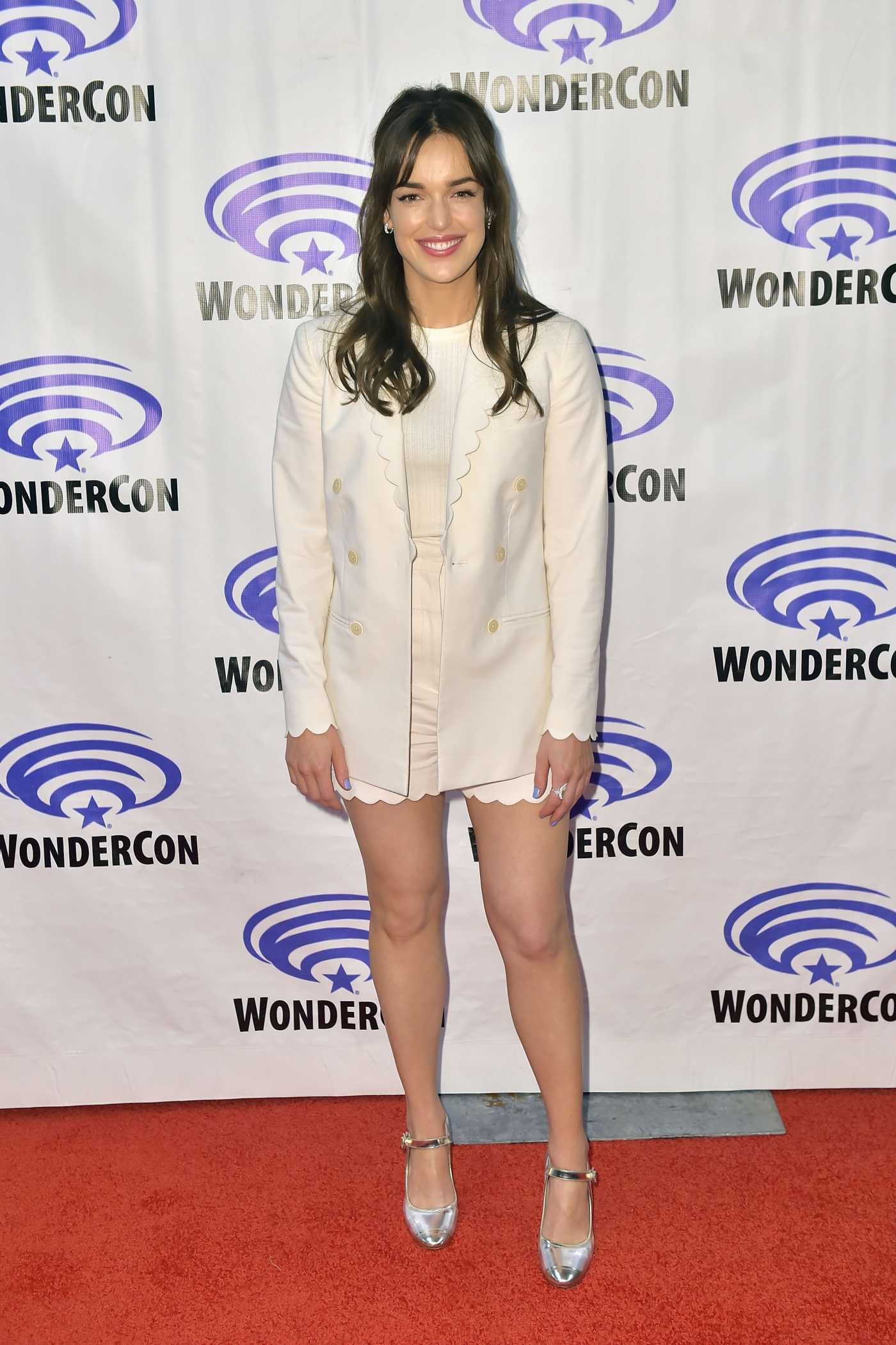 Elizabeth Henstridge Attends Marvel's Agents of S.H.I.E.L.D. Press Line During 2019 WonderCon in Anaheim 03/30/2019