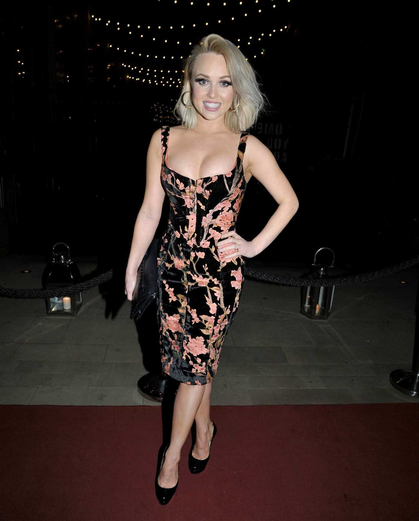 Jorgie Porter Arrives at the Christie Charity Ball at Principal Hotel in Manchester 03/09/2019