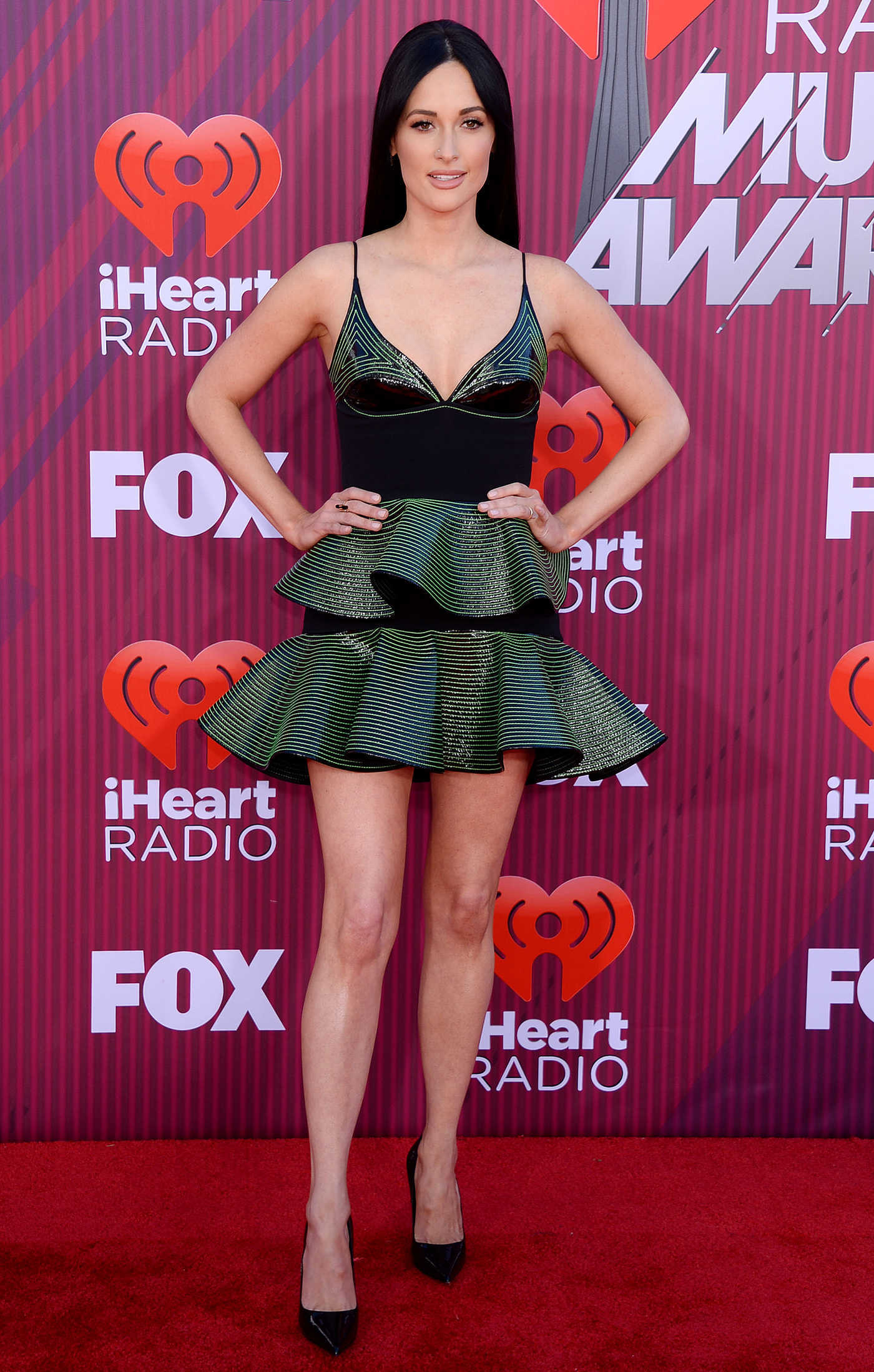 Kacey Musgraves Attends 2019 iHeartRadio Music Awards at Microsoft Theater in LA 03/14/2019