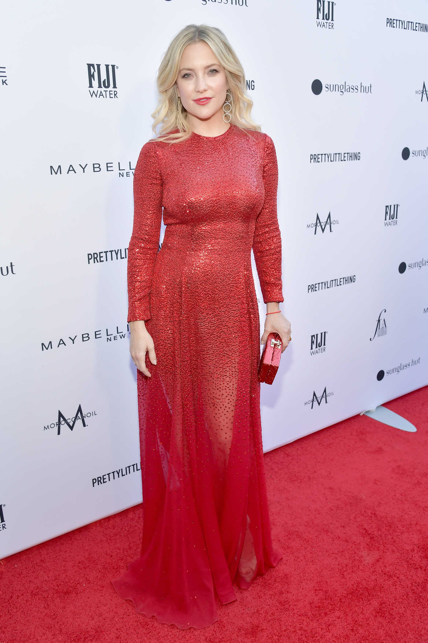 Kate Hudson Attends The Daily Front Row Fashion Awards at The Beverly Hills Hotel in Los Angeles 03/17/2019