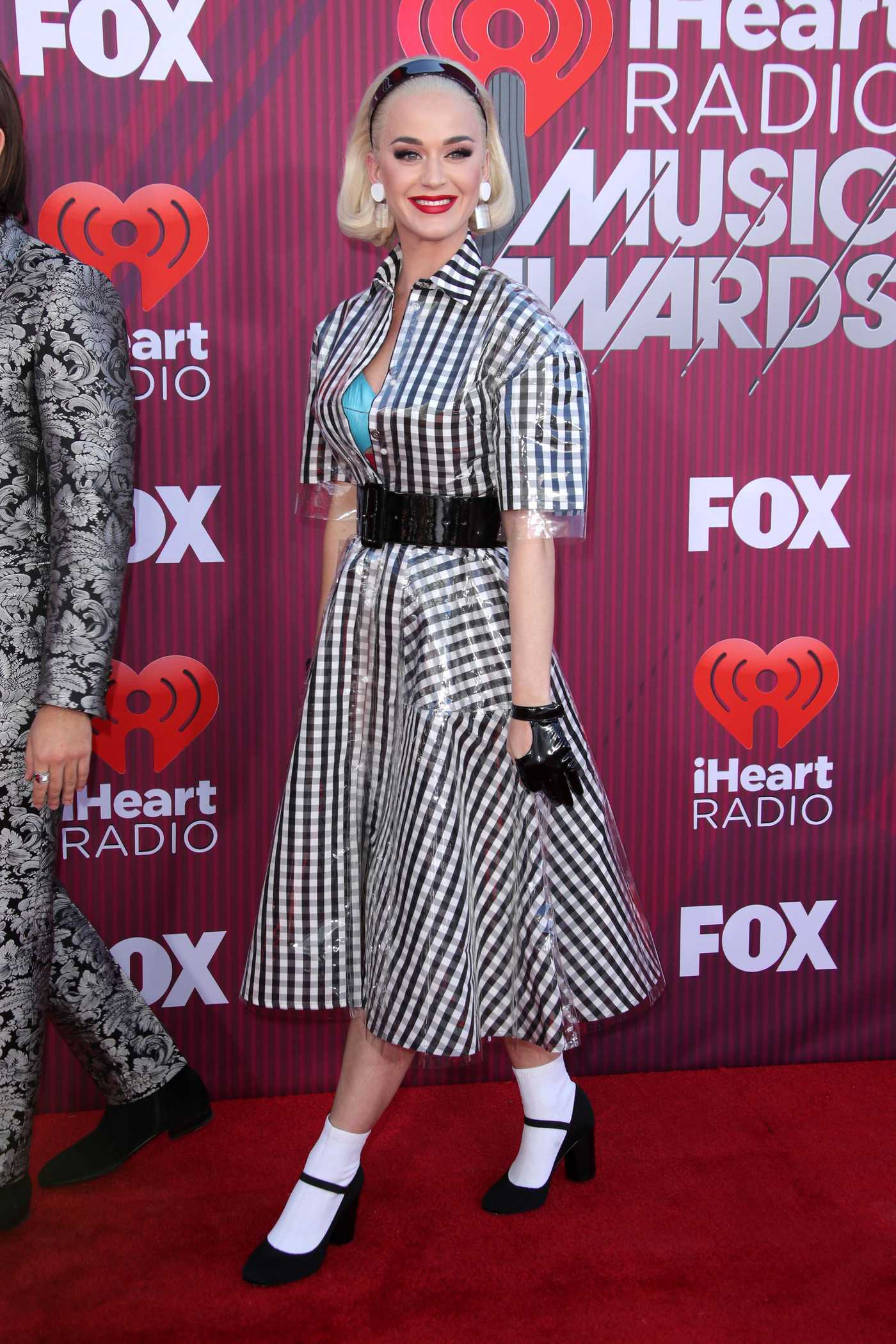 Katy Perry Attends 2019 iHeartRadio Music Awards at Microsoft Theater in LA 03/14/2019