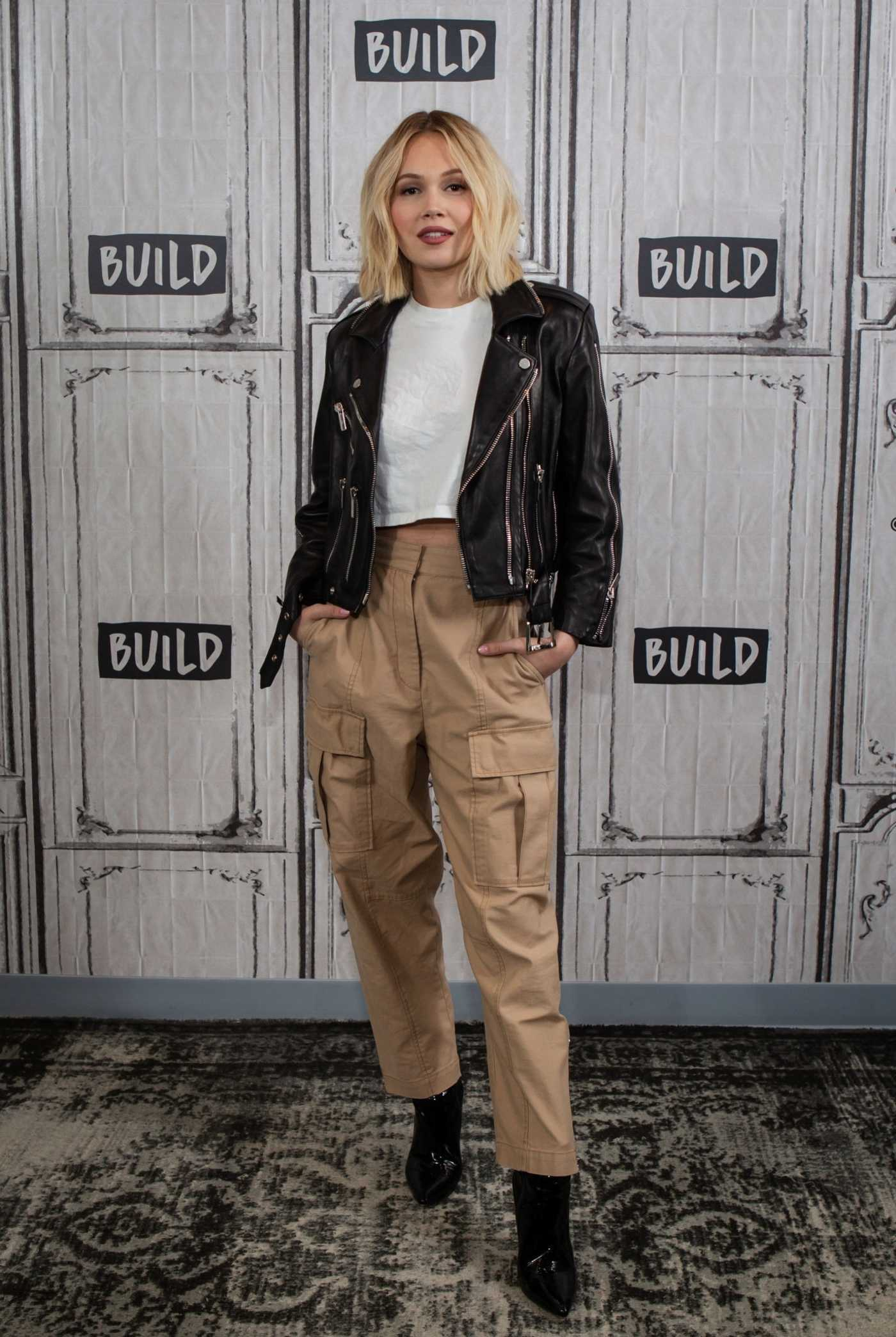 Kelli Berglund Attends AOL Build Series Studios in NYC 03/01/2019