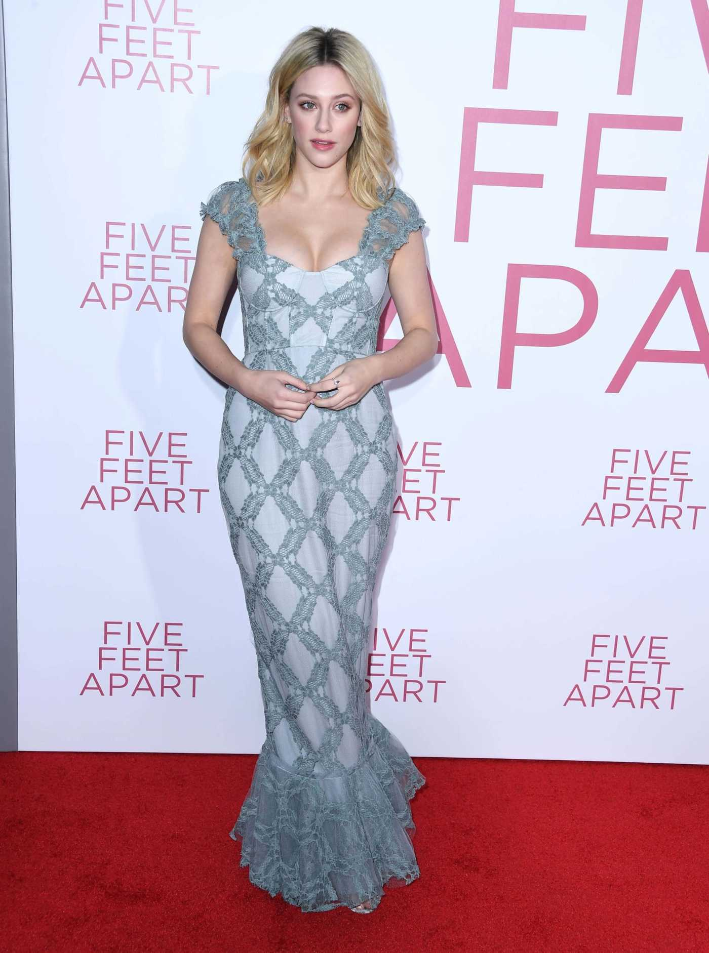 Lili Reinhart Attends Five Feet Apart Premiere in LA 03/07/2019