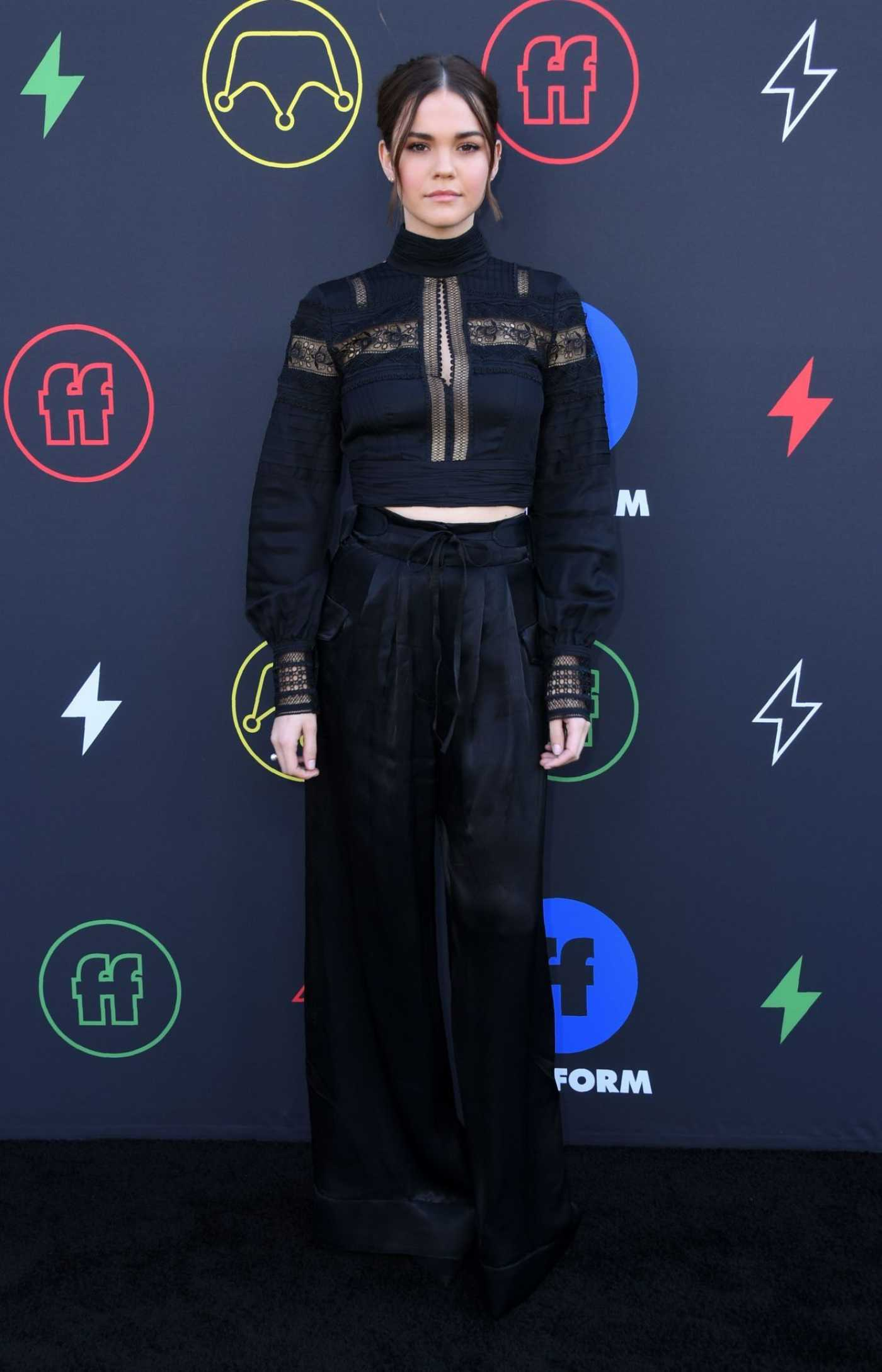 Maia Mitchell Attends 2019 Freeform Summit in LA 03/27/2019