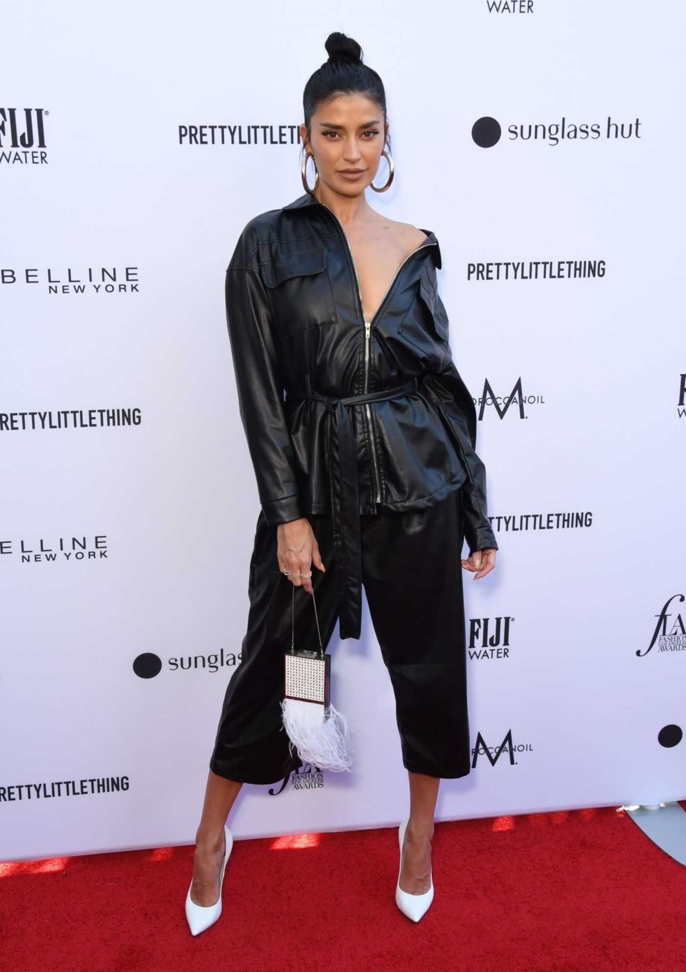 Nicole Williams Attends The Daily Front Row Fashion Awards at The Beverly Hills Hotel in Los Angeles 03/17/2019