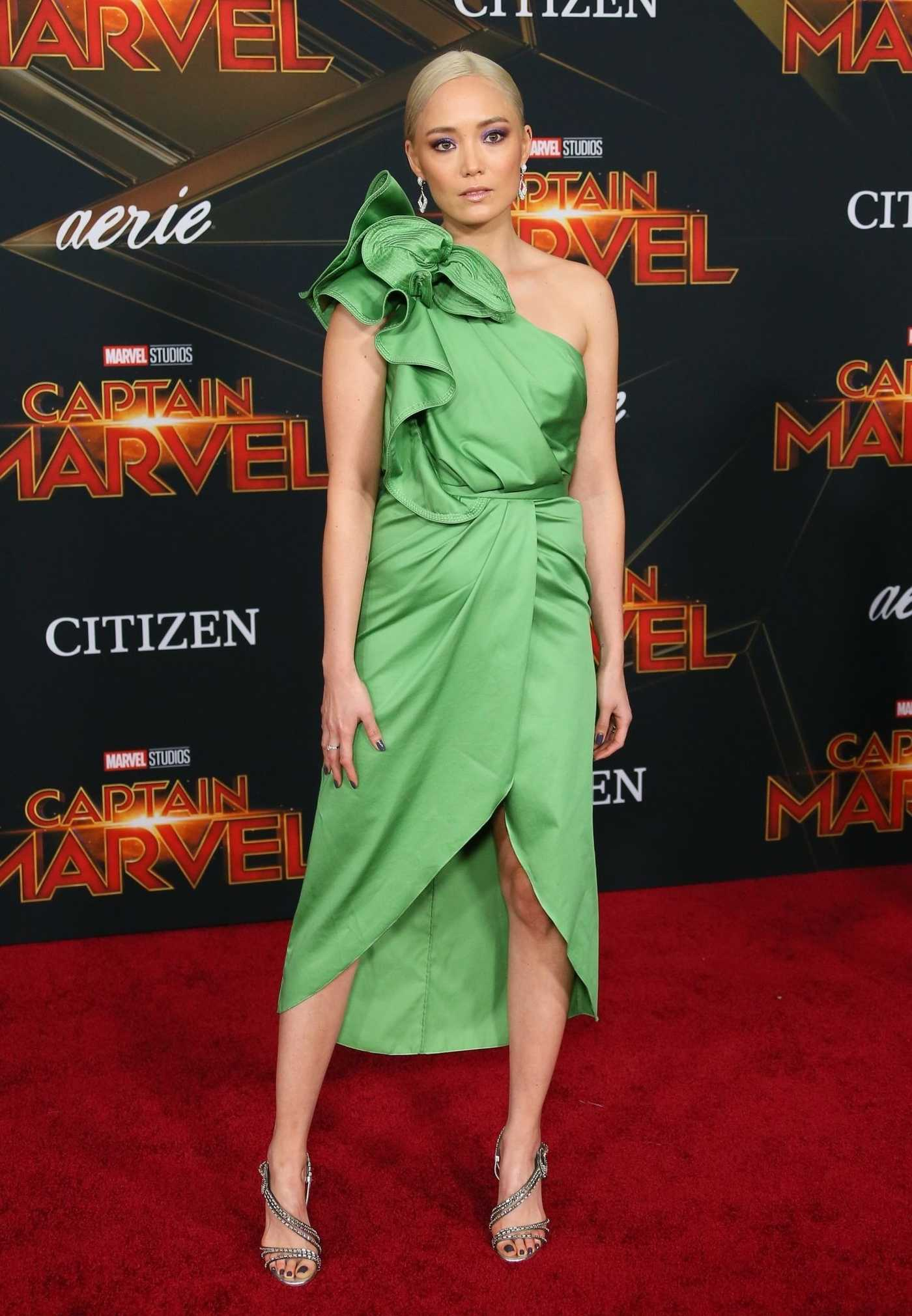 Pom Klementieff Attends the Captain Marvel Premiere at the El Capitan Theatre in Los Angeles 03/04/2019