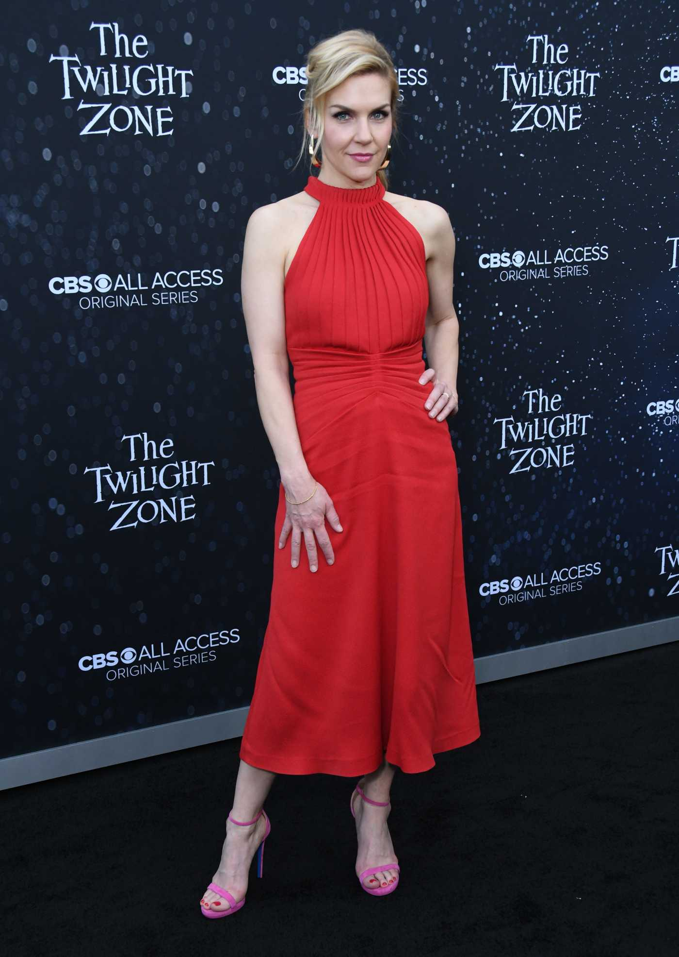 Rhea Seehorn Attends The Twilight Zone TV Show Premiere in LA 03/26/2019