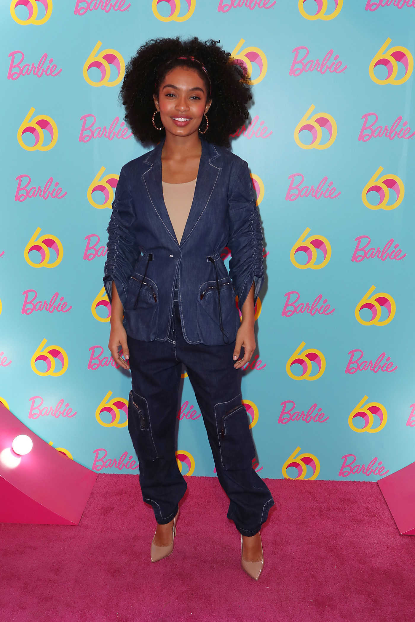 Yara Shahidi Attends Barbie's 60th Anniversary in New York 03/08/2019