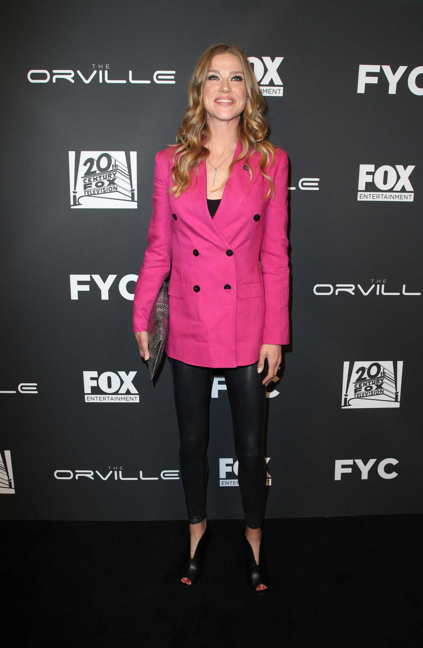 Adrianne Palicki Attends The Orville TV Show Photocall in LA 04/25/2019