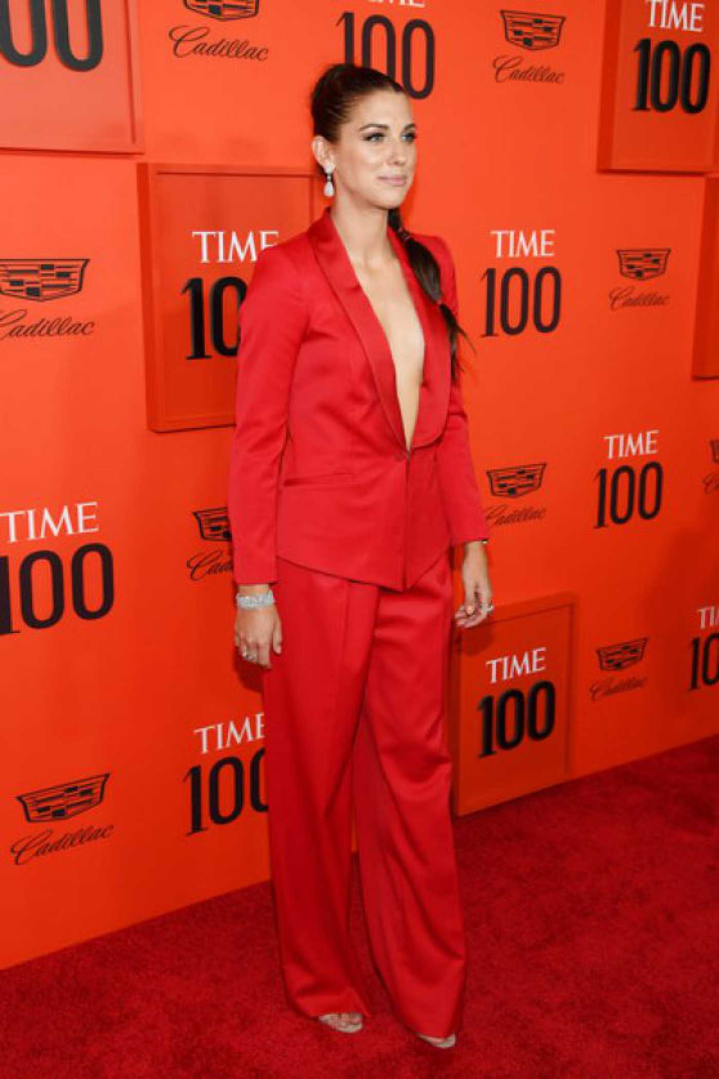 Alex Morgan Attends 2019 TIME 100 Gala at Lincoln Center in NY  04/23/2019