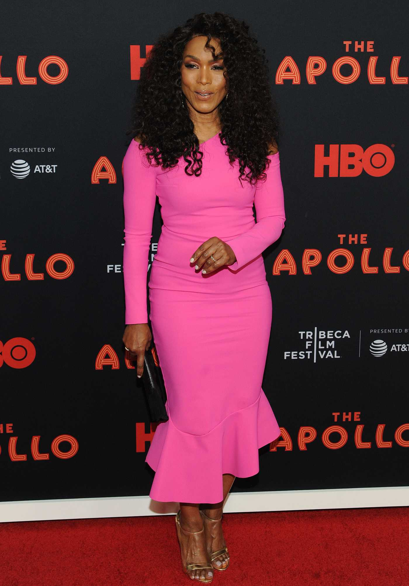 Angela Bassett Attends The Apollo Premiere on Tribeca Film
